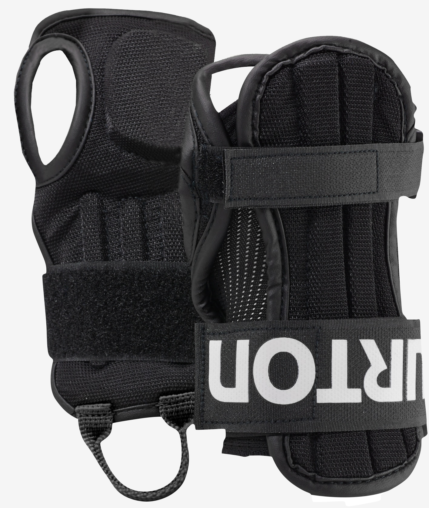 Burton Kids' Impact Wrist Guard shown in True Black
