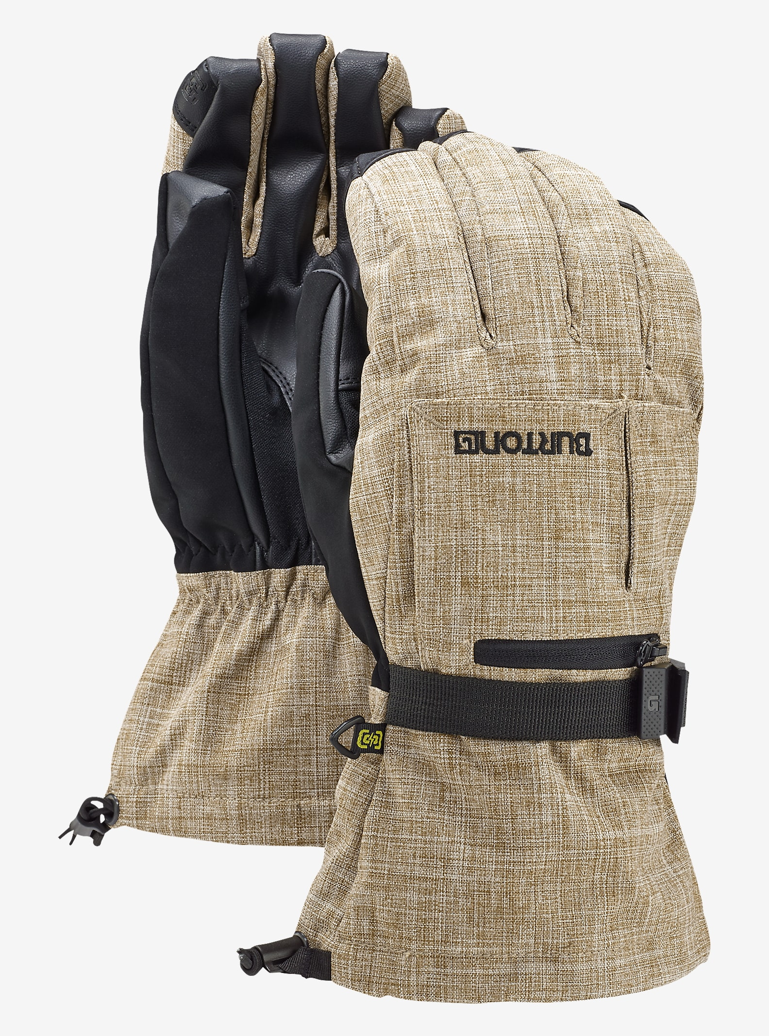 Burton Baker 2-In-1 Glove shown in Beaver Tail Melange