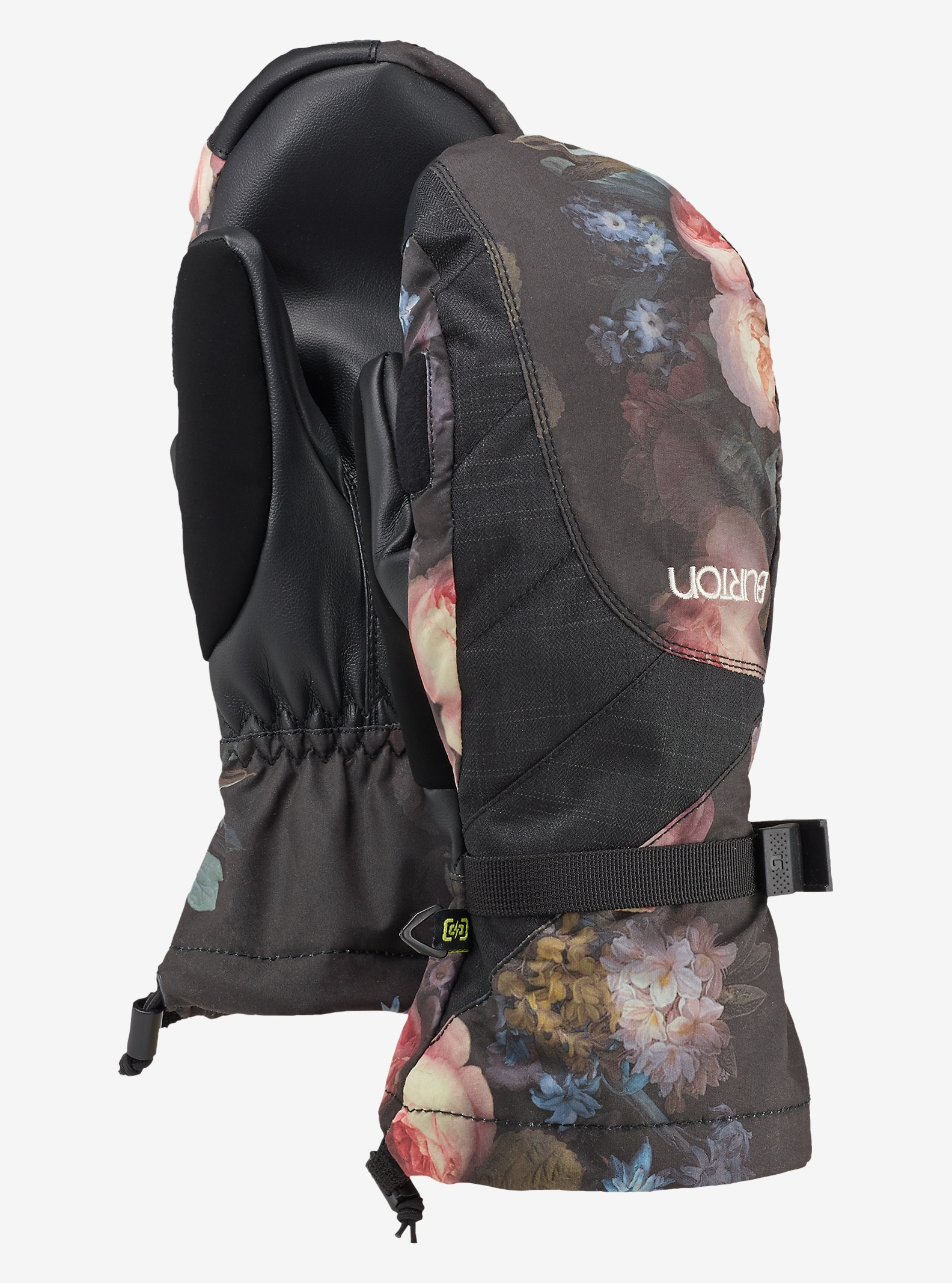Burton Women's Approach Mitt shown in Lowland Floral