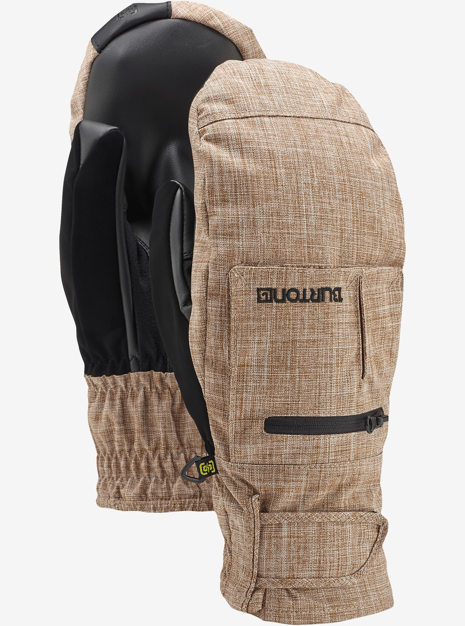 Burton Baker 2-In-1 Under Mitt shown in Beaver Tail Melange