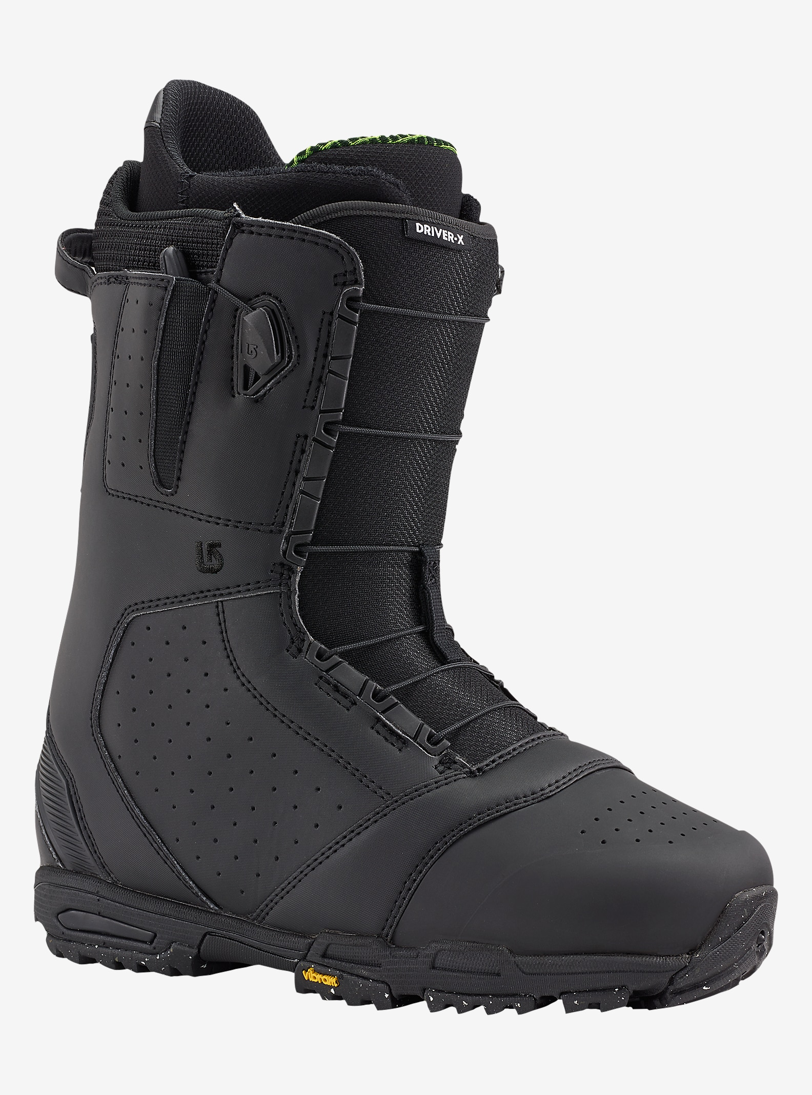 Burton Driver X Snowboard Boot shown in Black