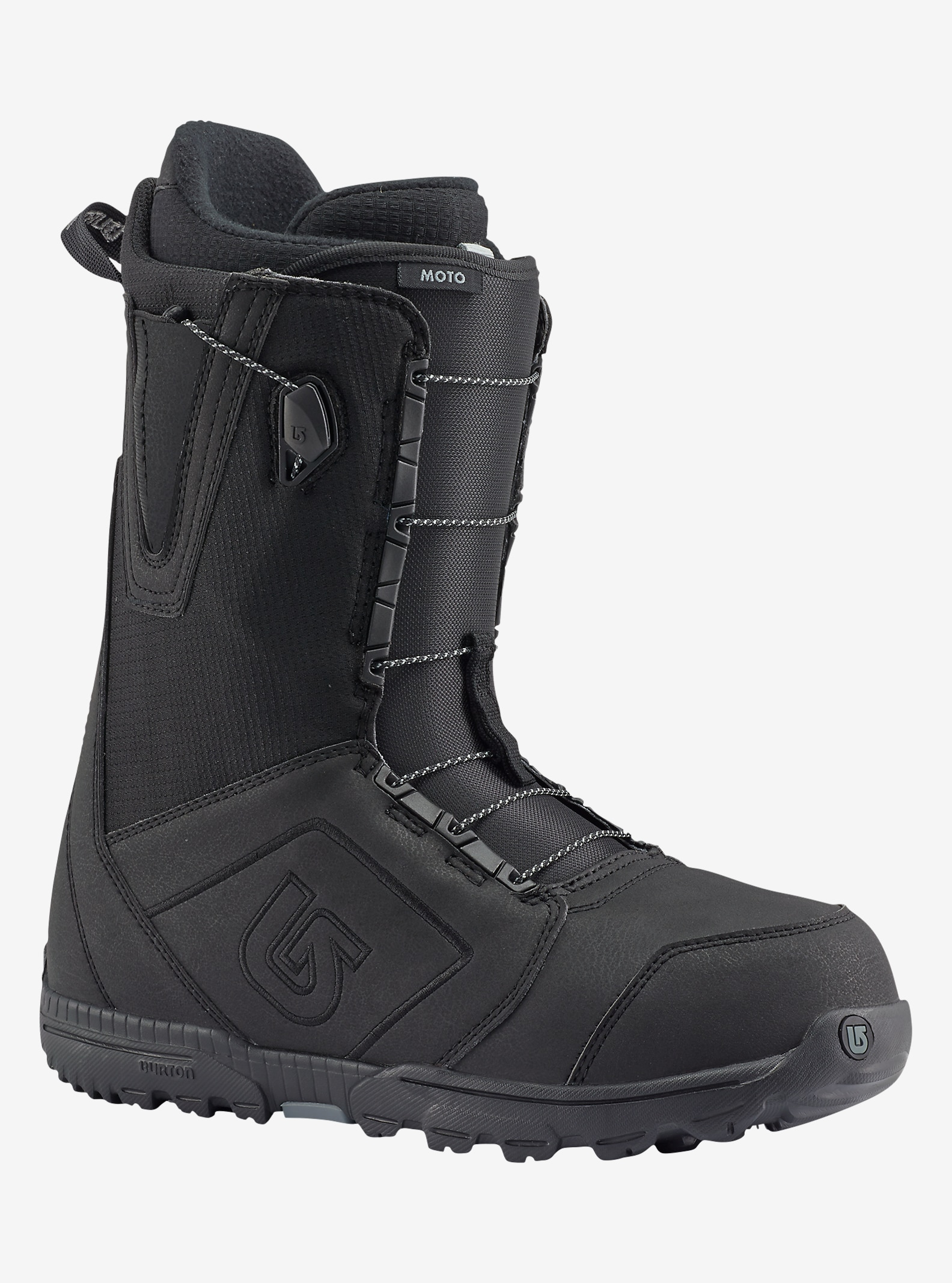Burton Moto Snowboard Boot shown in Black