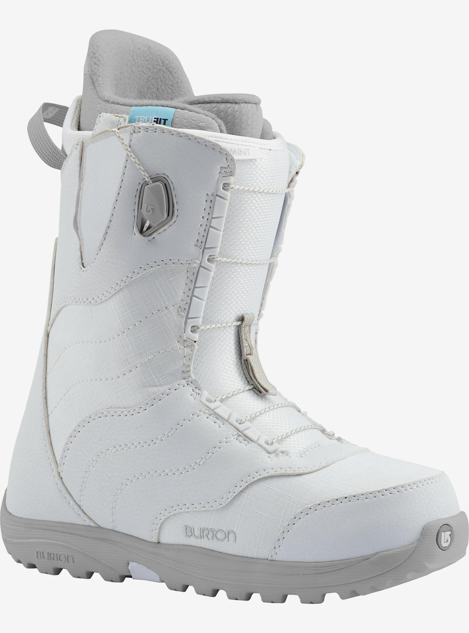 Burton Mint Snowboard Boot shown in White / Gray