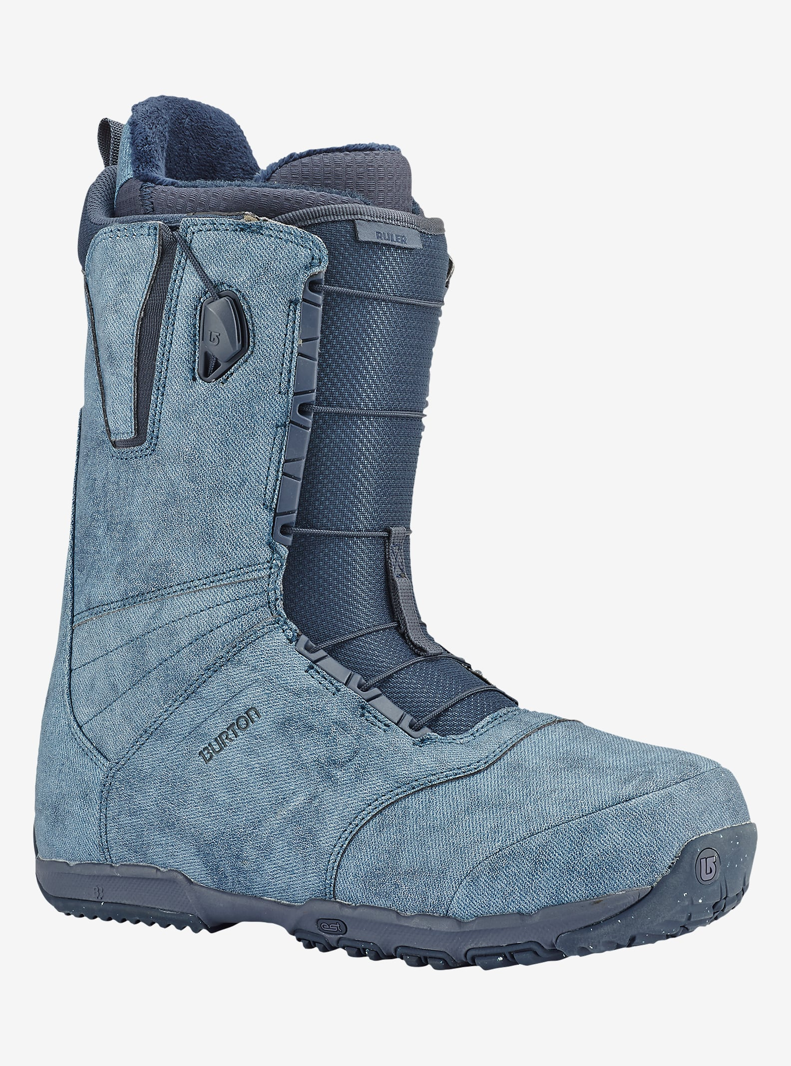 Burton Ruler Snowboard Boot shown in Denim