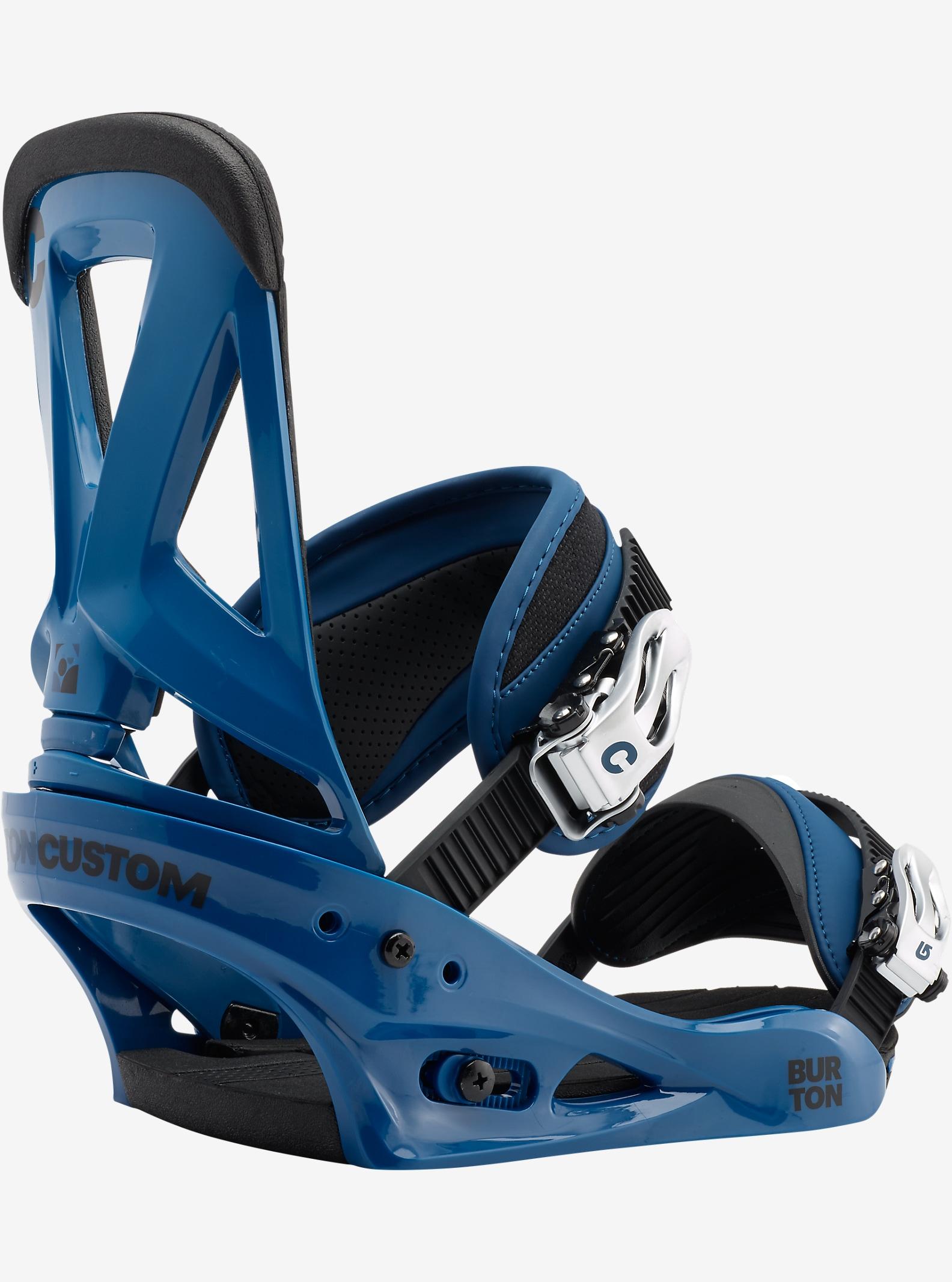 Burton Custom Snowboardbindung angezeigt in Blue