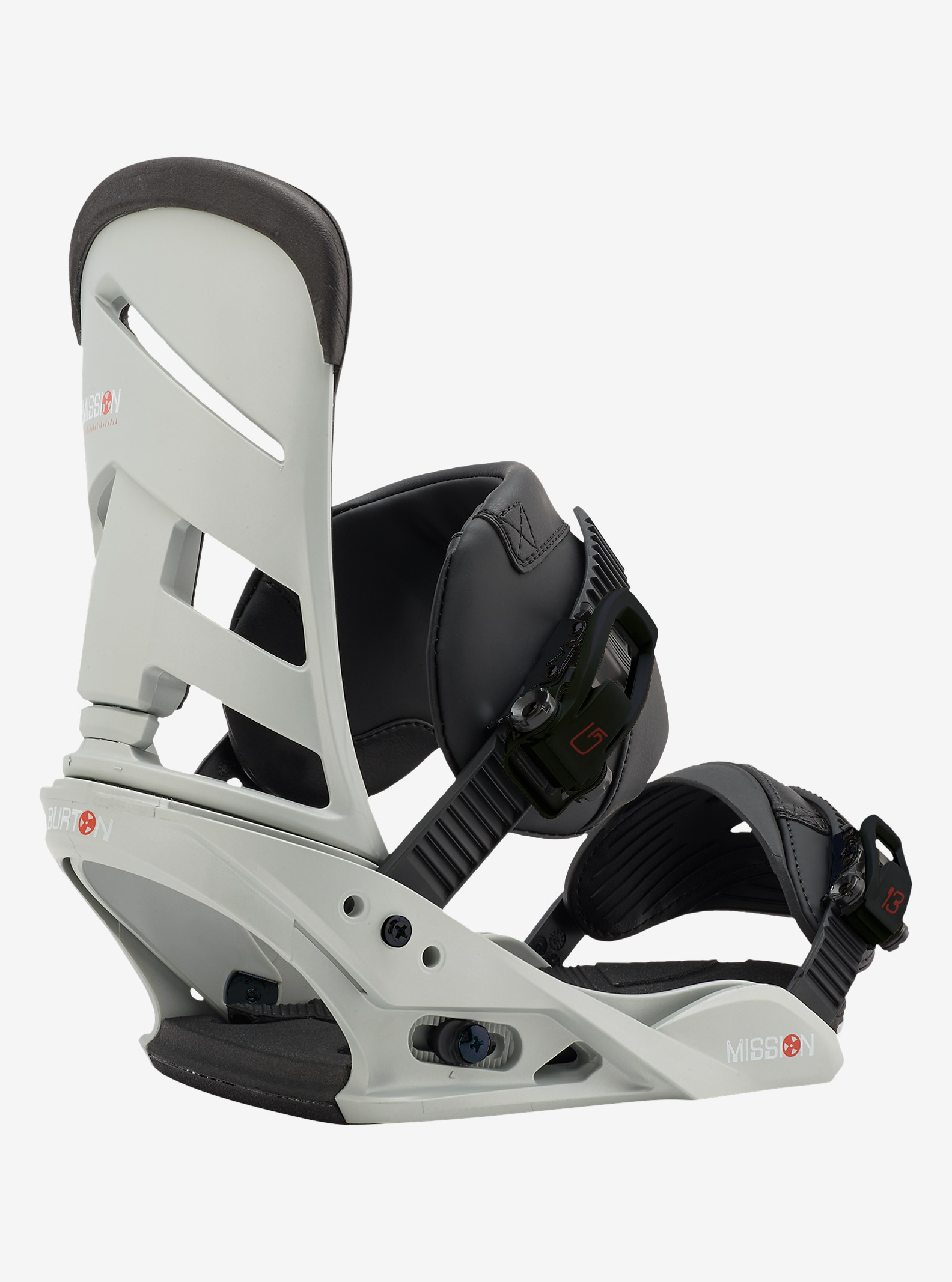 Burton Mission Snowboard Binding shown in Gnarly Sheen