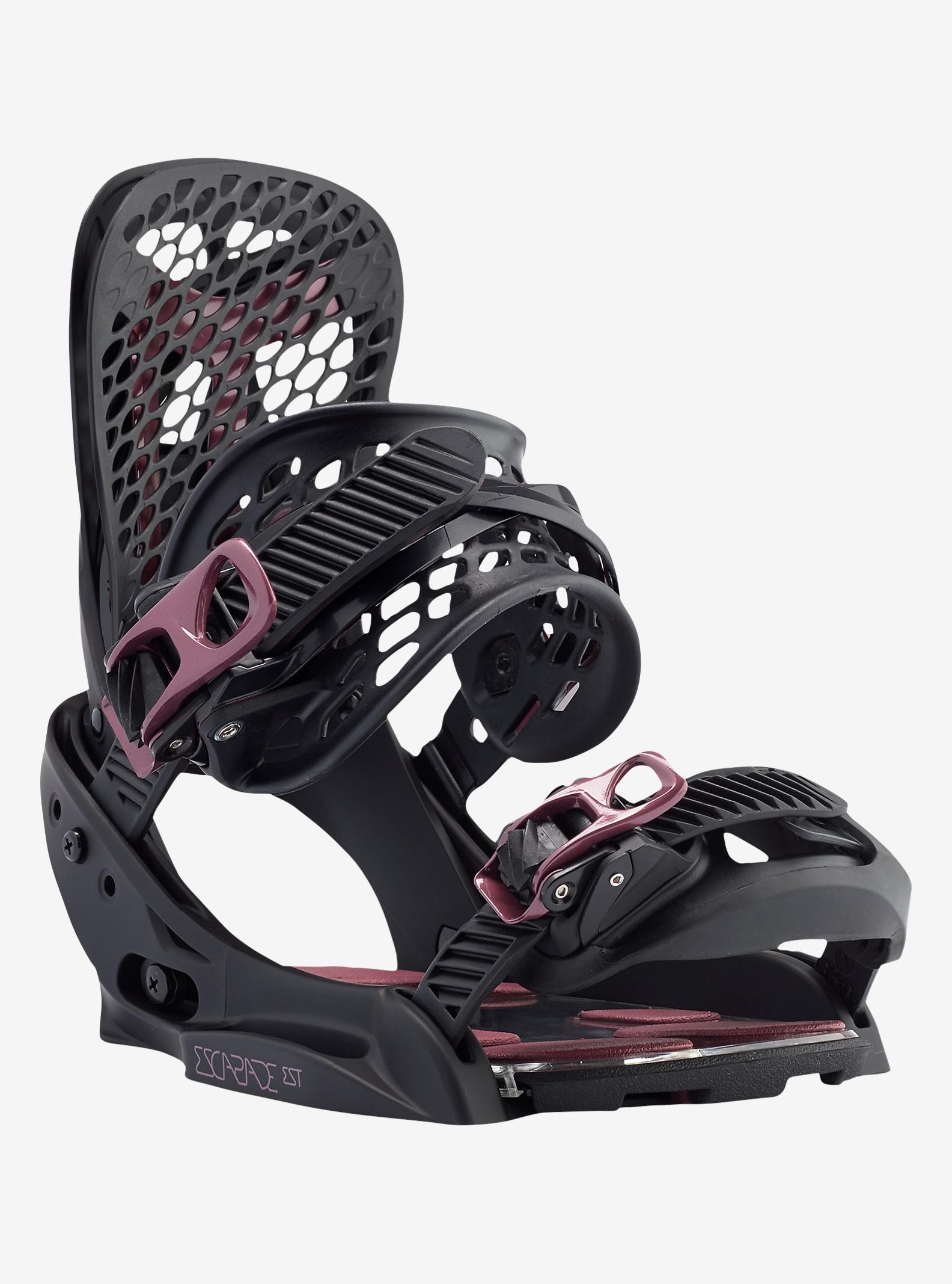 Burton Escapade EST Snowboard Binding shown in Black