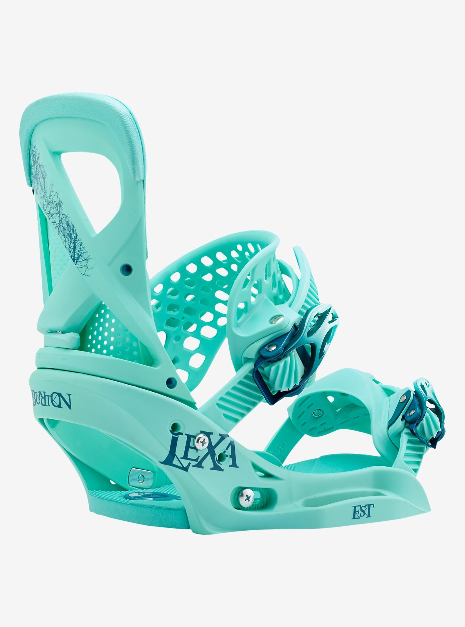 Burton - Fixation pour planche à neige Lexa EST affichage en The Teal Deal