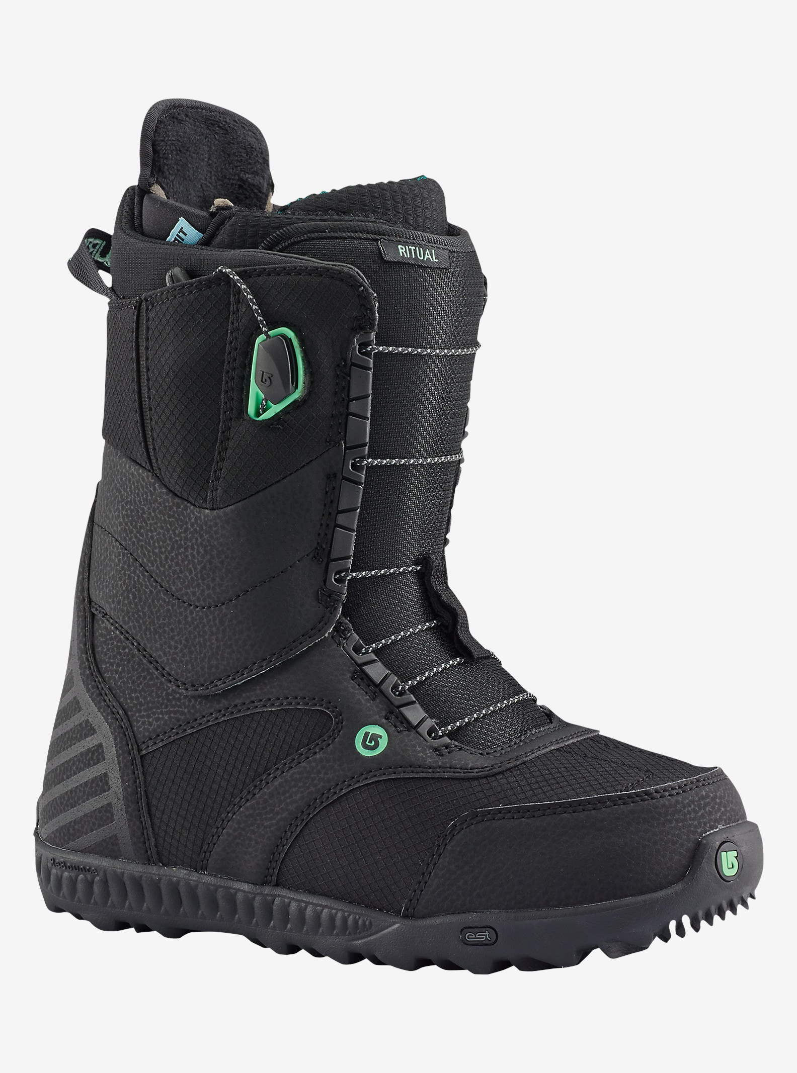 Burton Ritual Snowboard Boot shown in Black