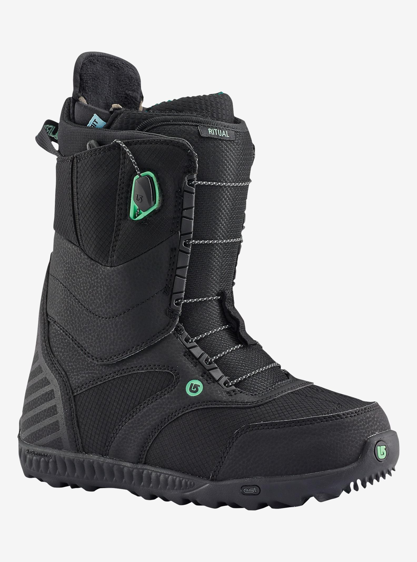 Burton Ritual Snowboard Boot shown in Black