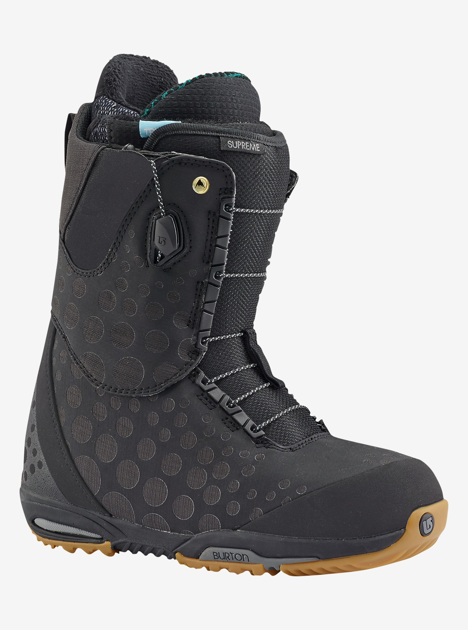 Burton Supreme Snowboard Boot shown in Black