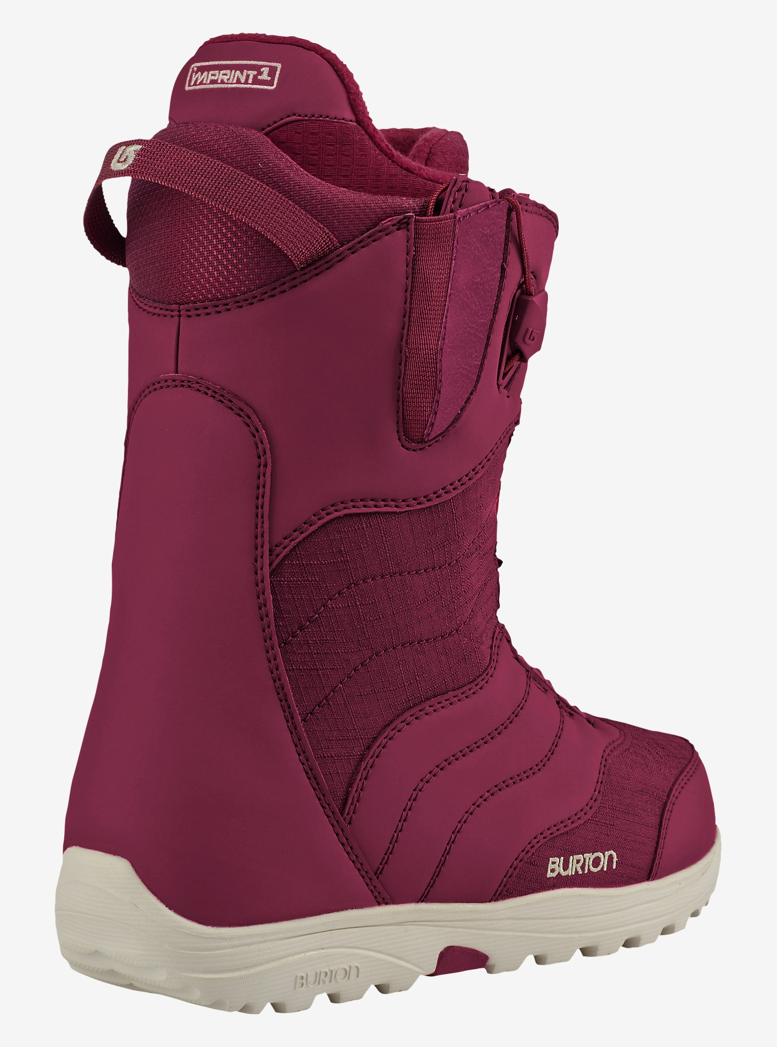 Burton Mint Snowboard Boot shown in Cabernet