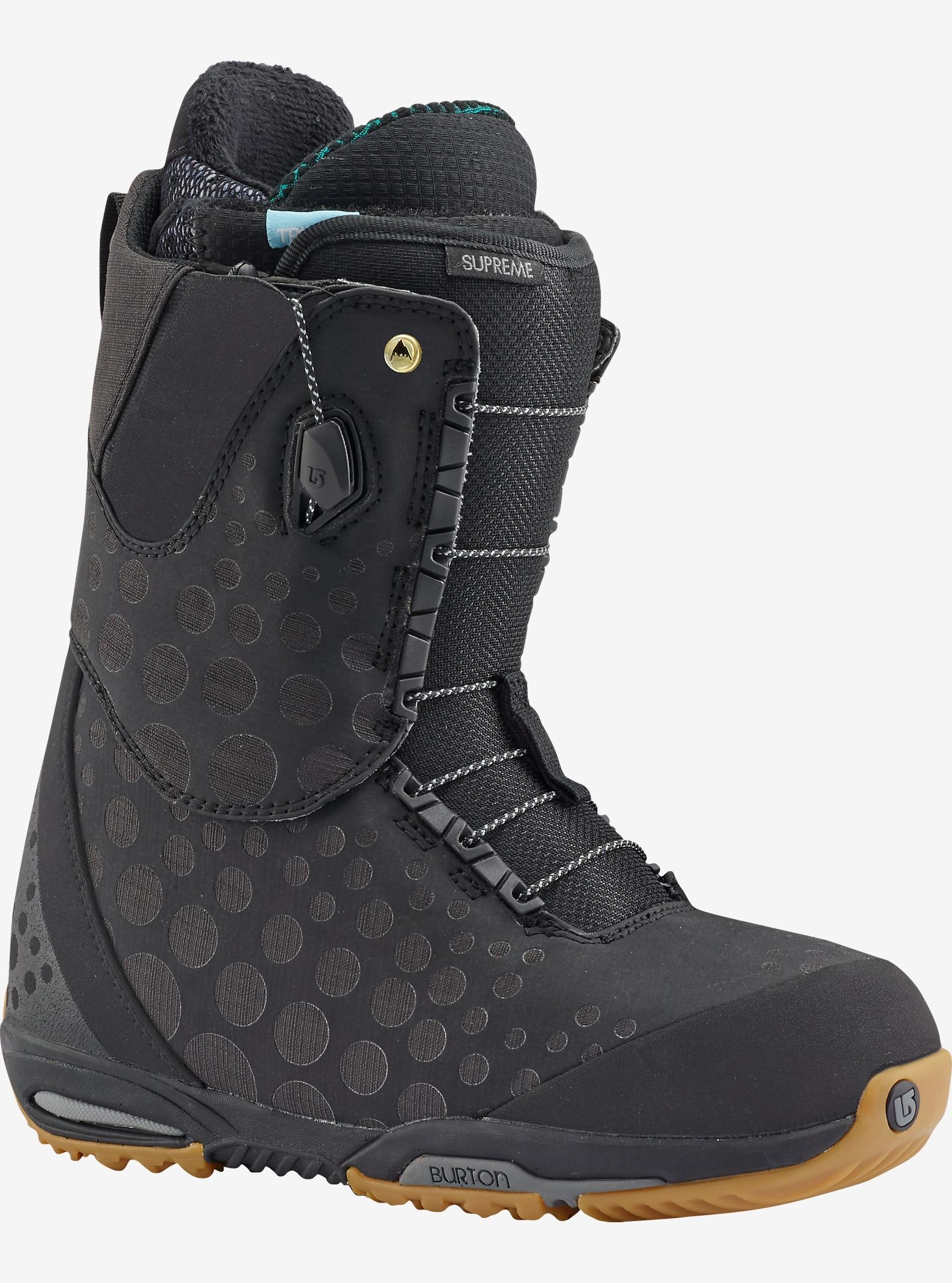 Burton Supreme Snowboard Boot shown in Black