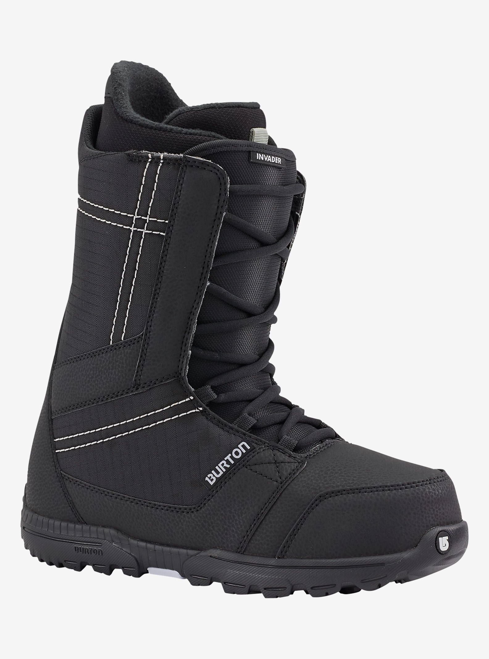 Burton Invader Snowboard Boot shown in Black