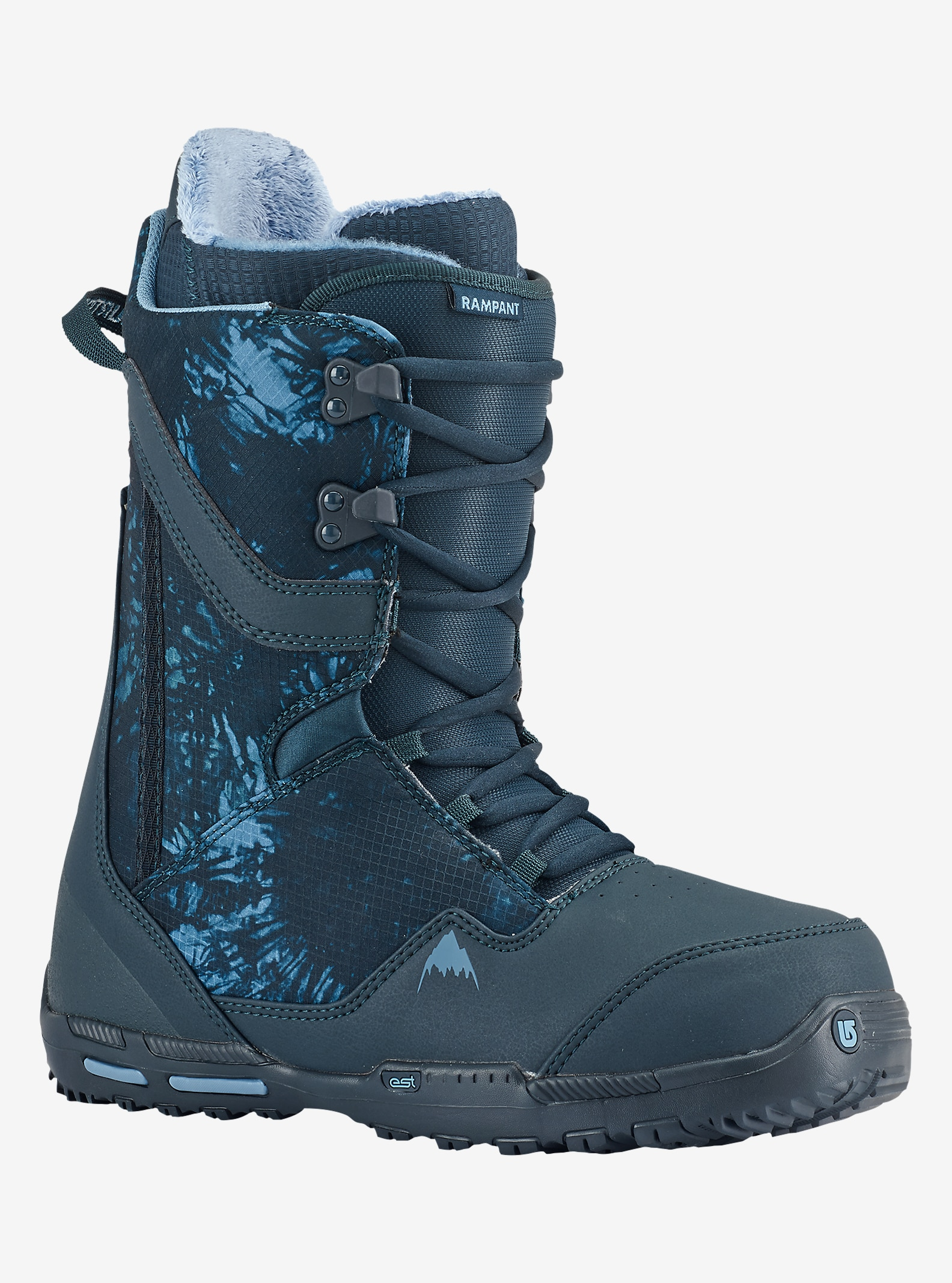 Burton Rampant Snowboard Boot shown in Blueprint