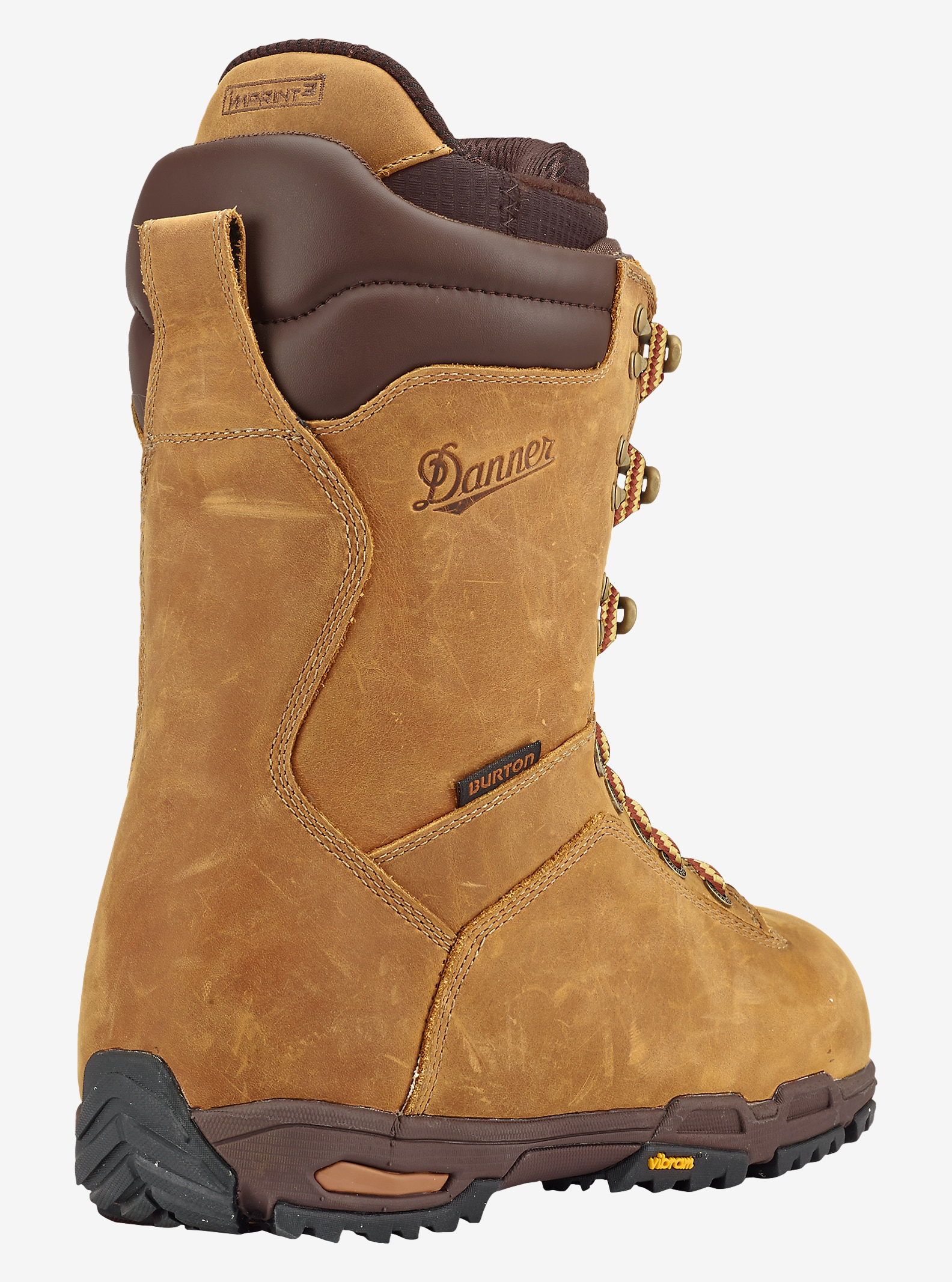 Burton x Danner Snowboard Boot shown in Distressed Brown