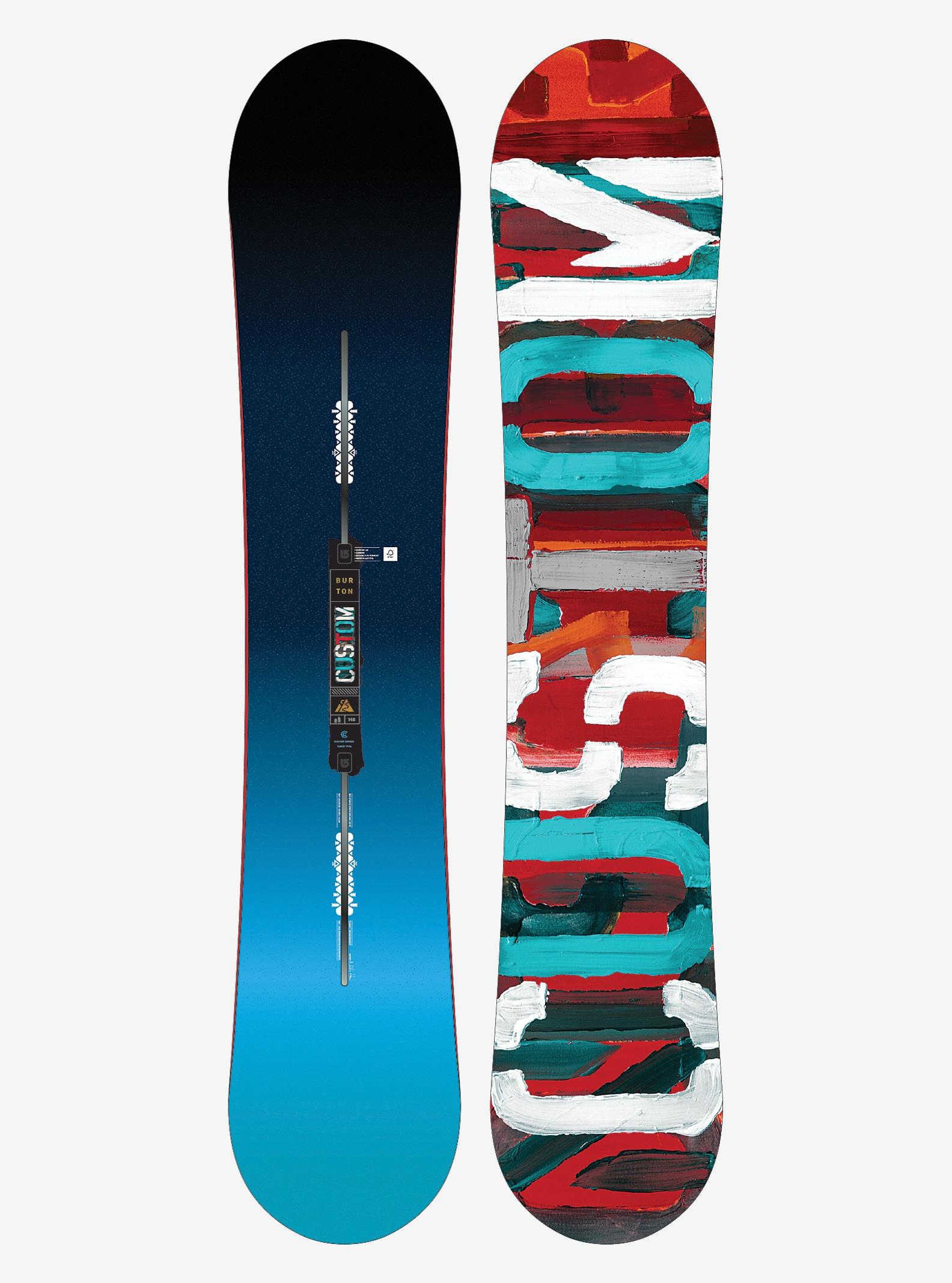 Burton Custom Snowboard shown in 148