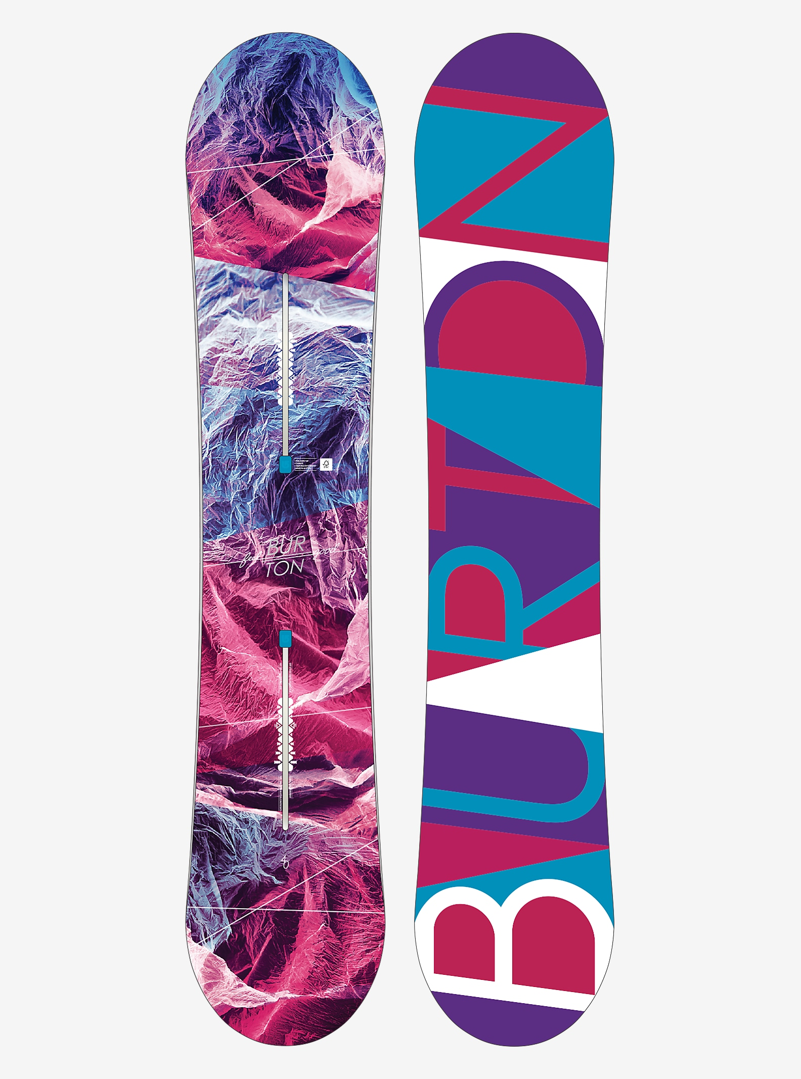 Burton Feelgood Snowboard shown in 140