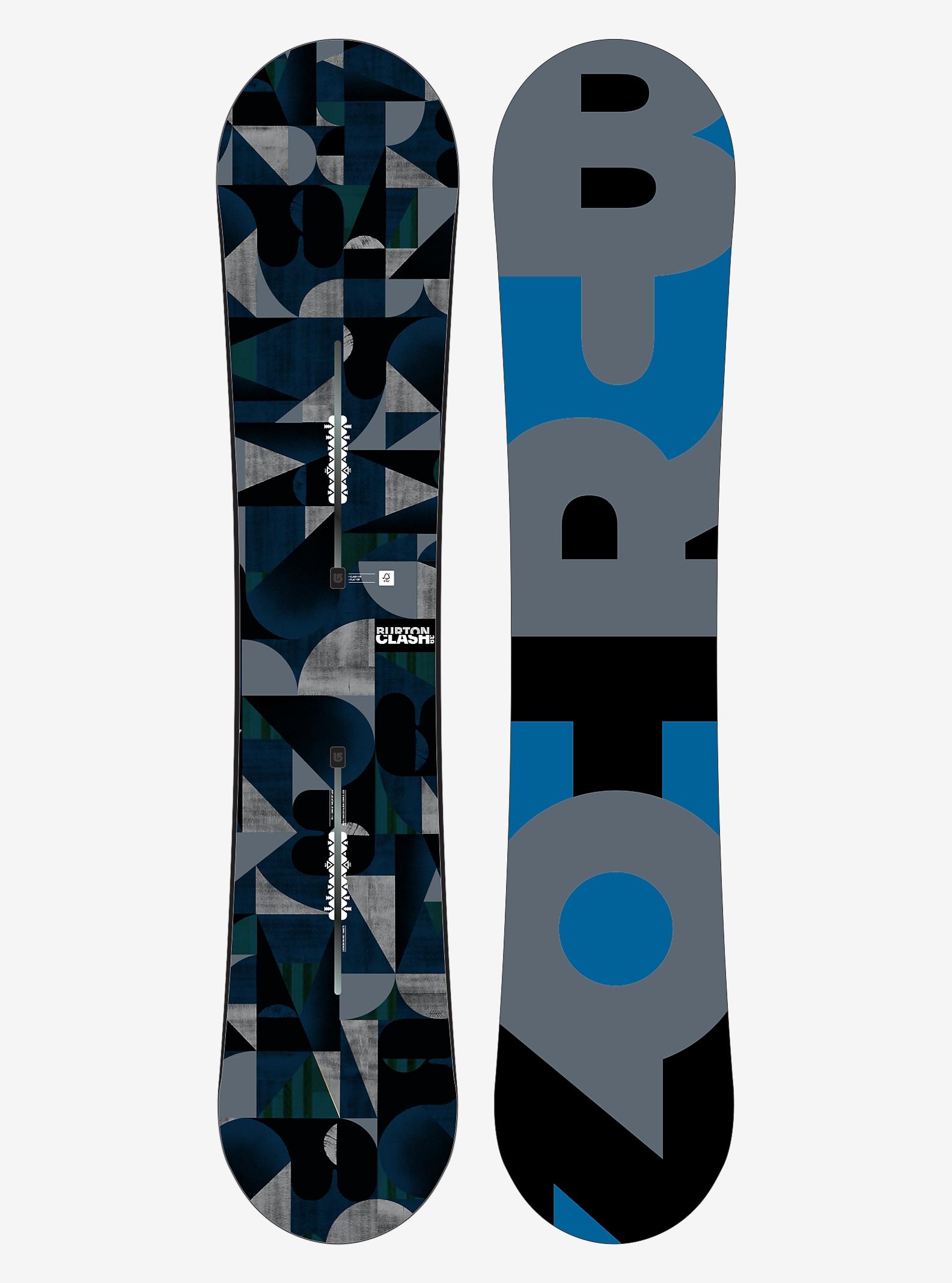 Burton Clash Snowboard shown in 139