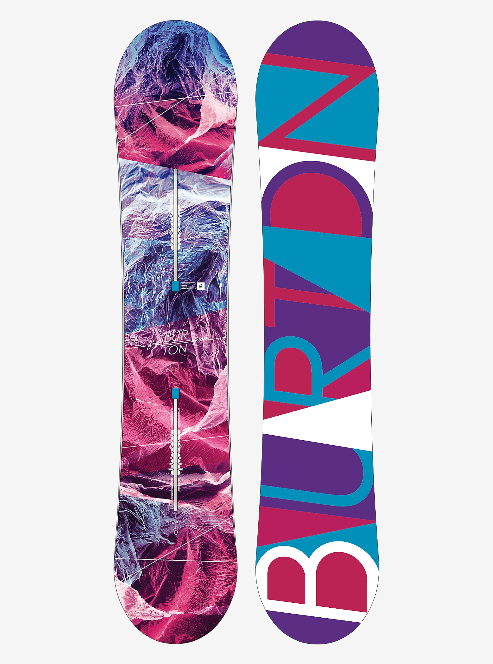 Burton Feelgood Flying V Snowboard angezeigt in 140