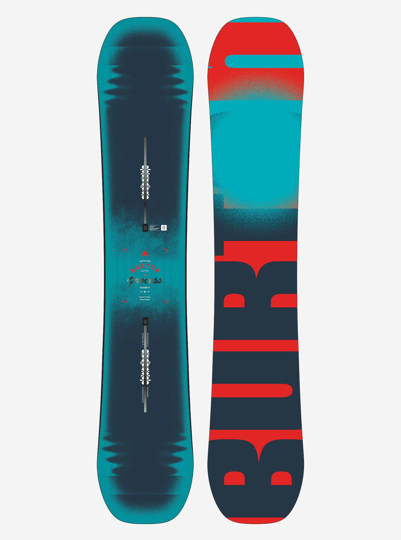 Burton Process Flying V Snowboard angezeigt in 152