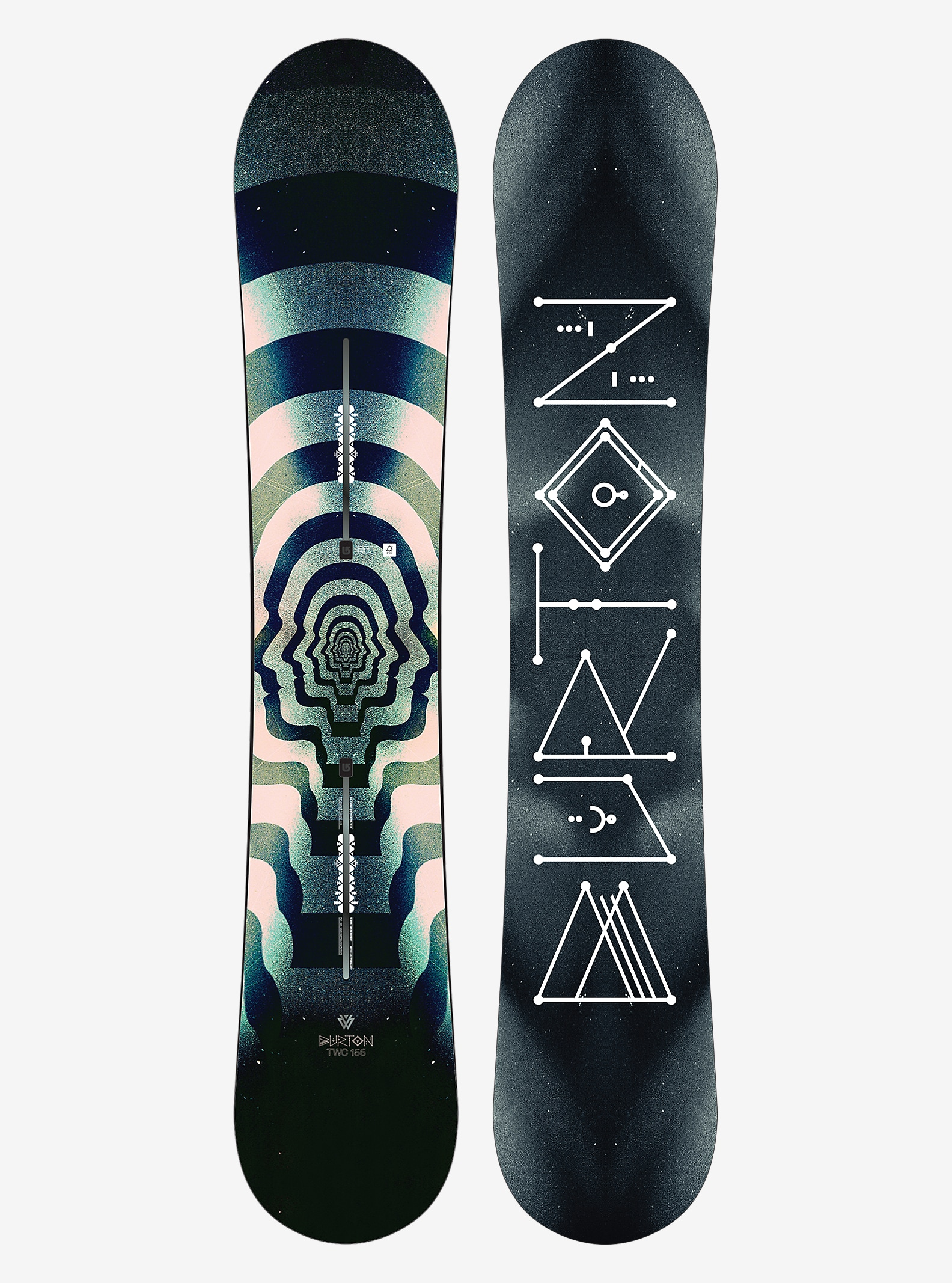 Burton TWC Pro Snowboard shown in 156
