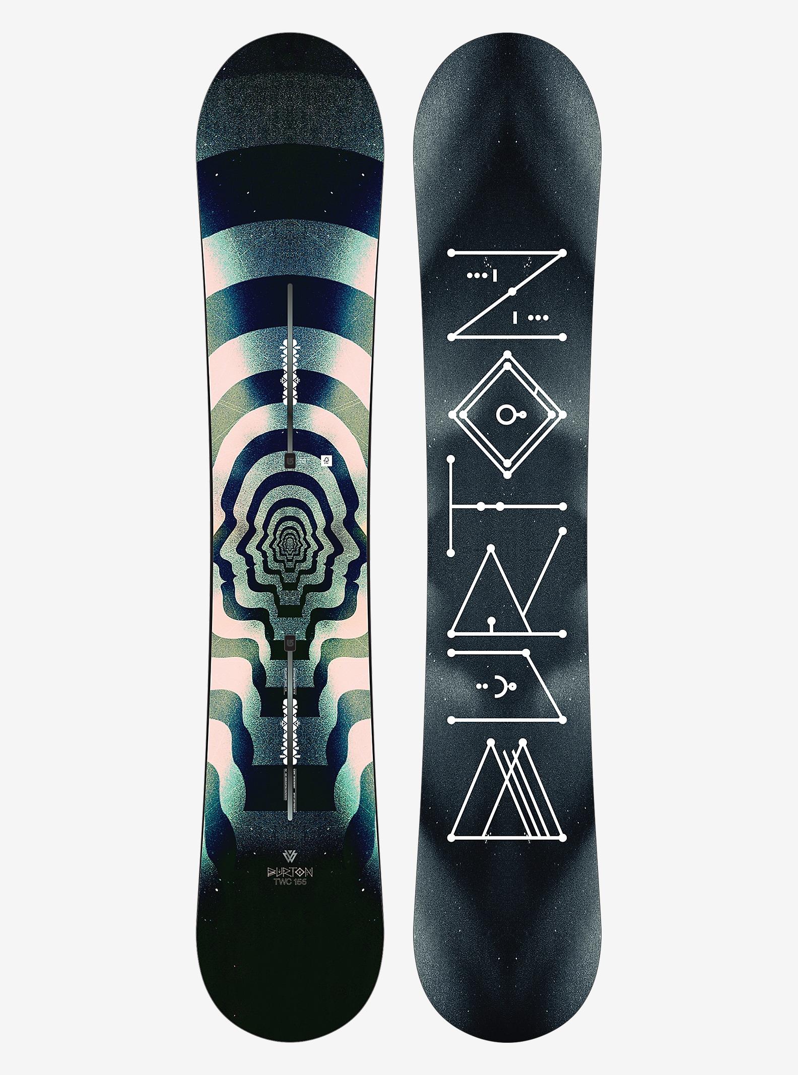 Burton - Snowboard TWC Pro affichage en 156