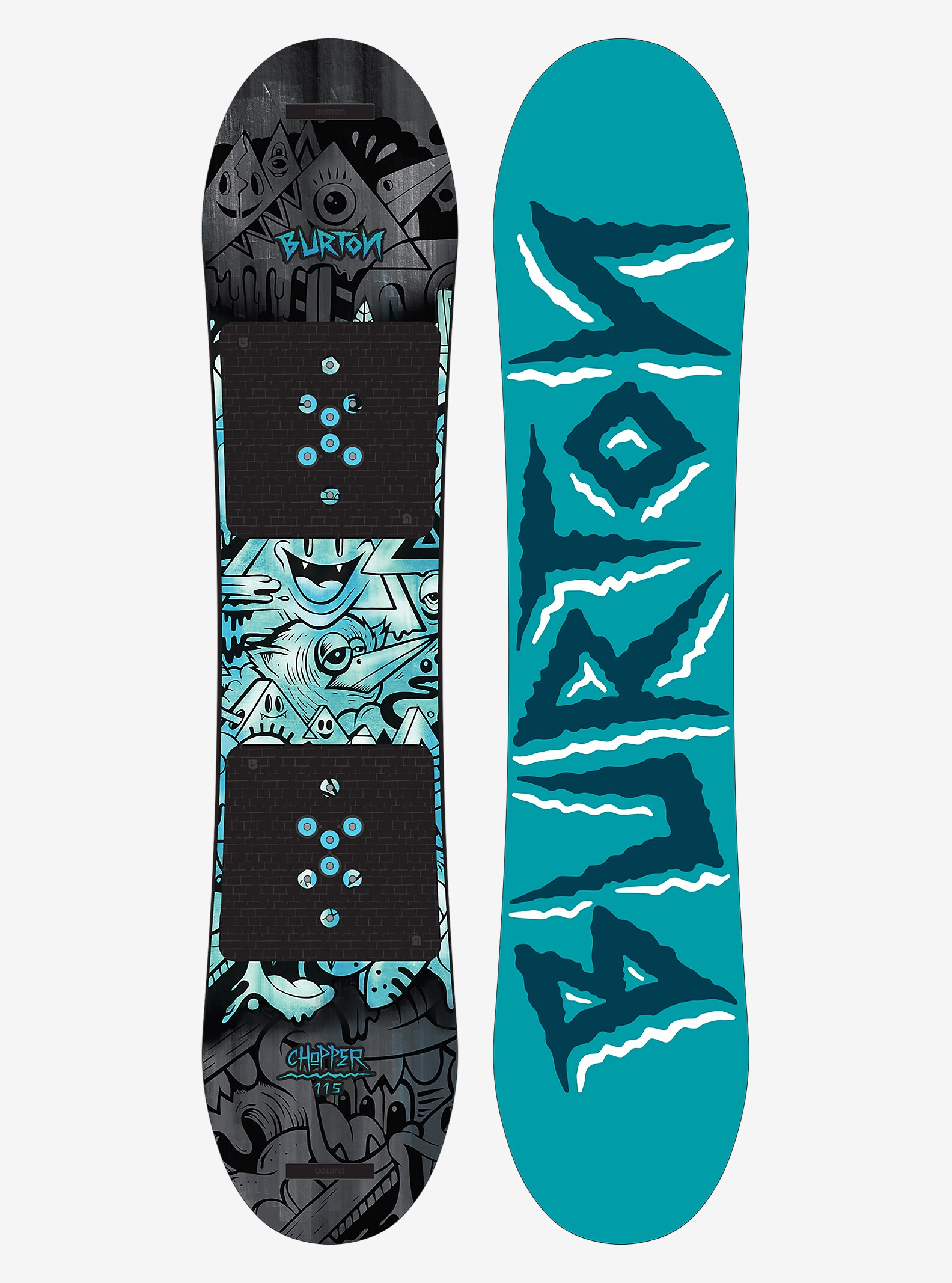 Burton Chopper Snowboard shown in 115
