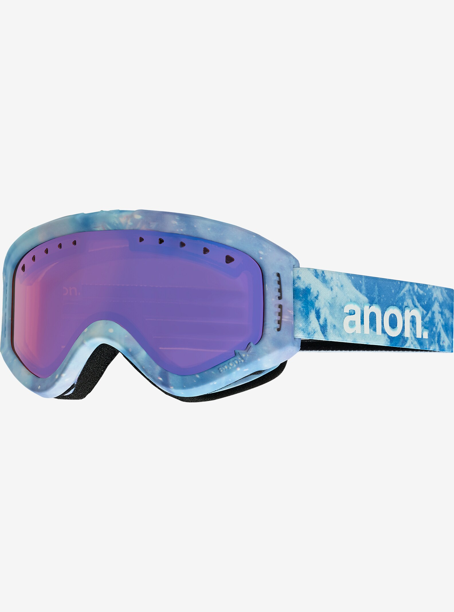 Disney Frozen Tracker Goggles by anon. shown in Frame: Frozen © Disney, Lens: Blue Amber