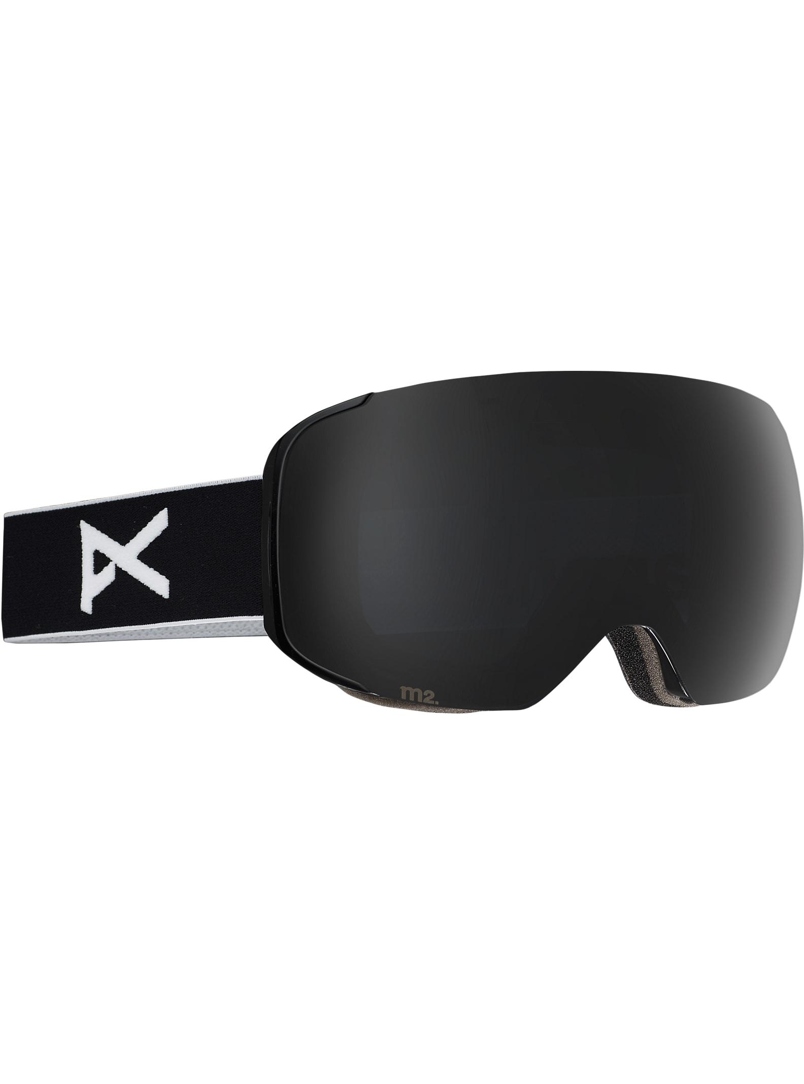 anon. M2 Goggle angezeigt in Rahmen: Black, Brillenglas: Polar Smoke