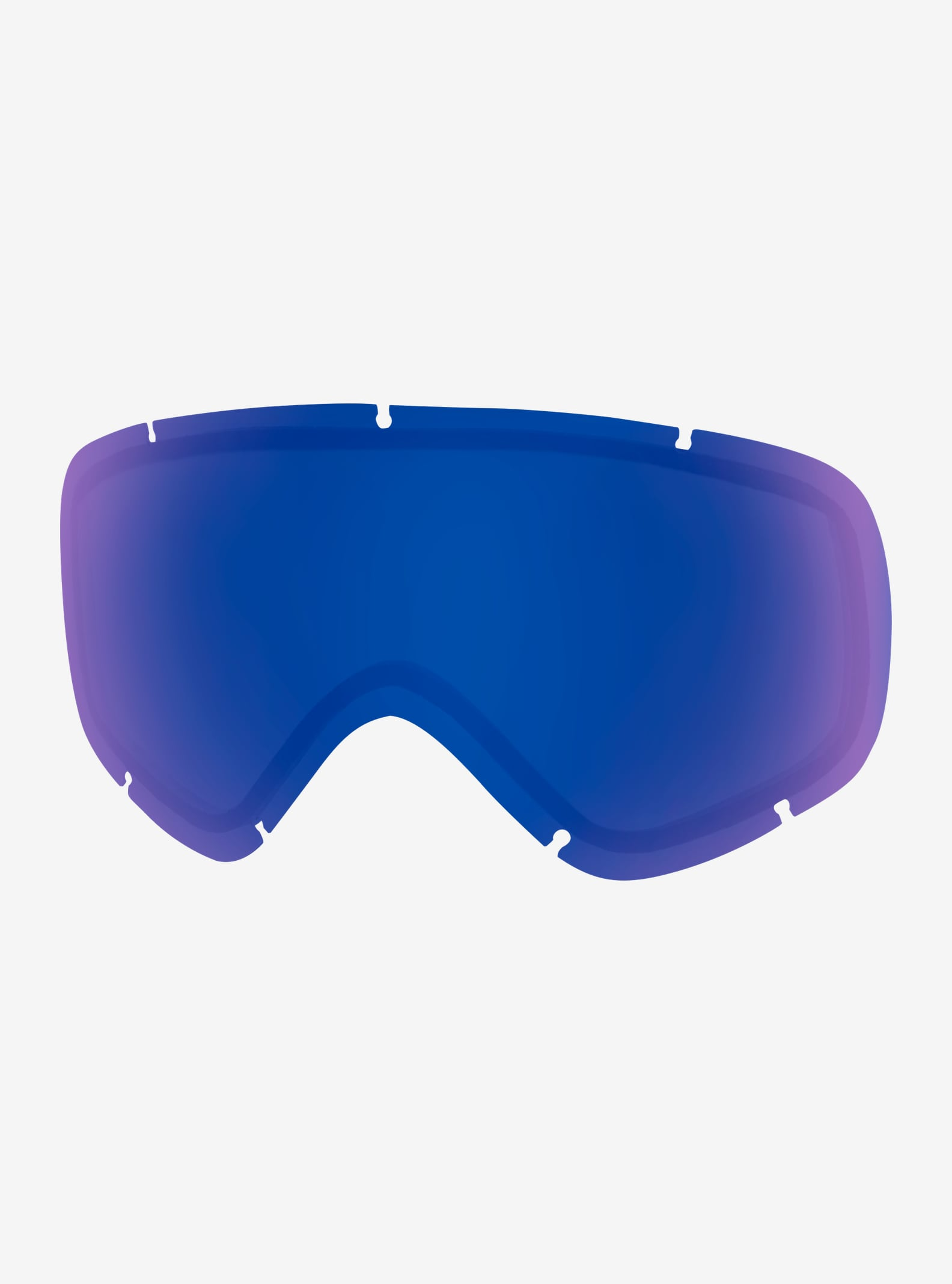 anon. Helix 2.0 Goggle Lens shown in Blue Cobalt (6% VLT)