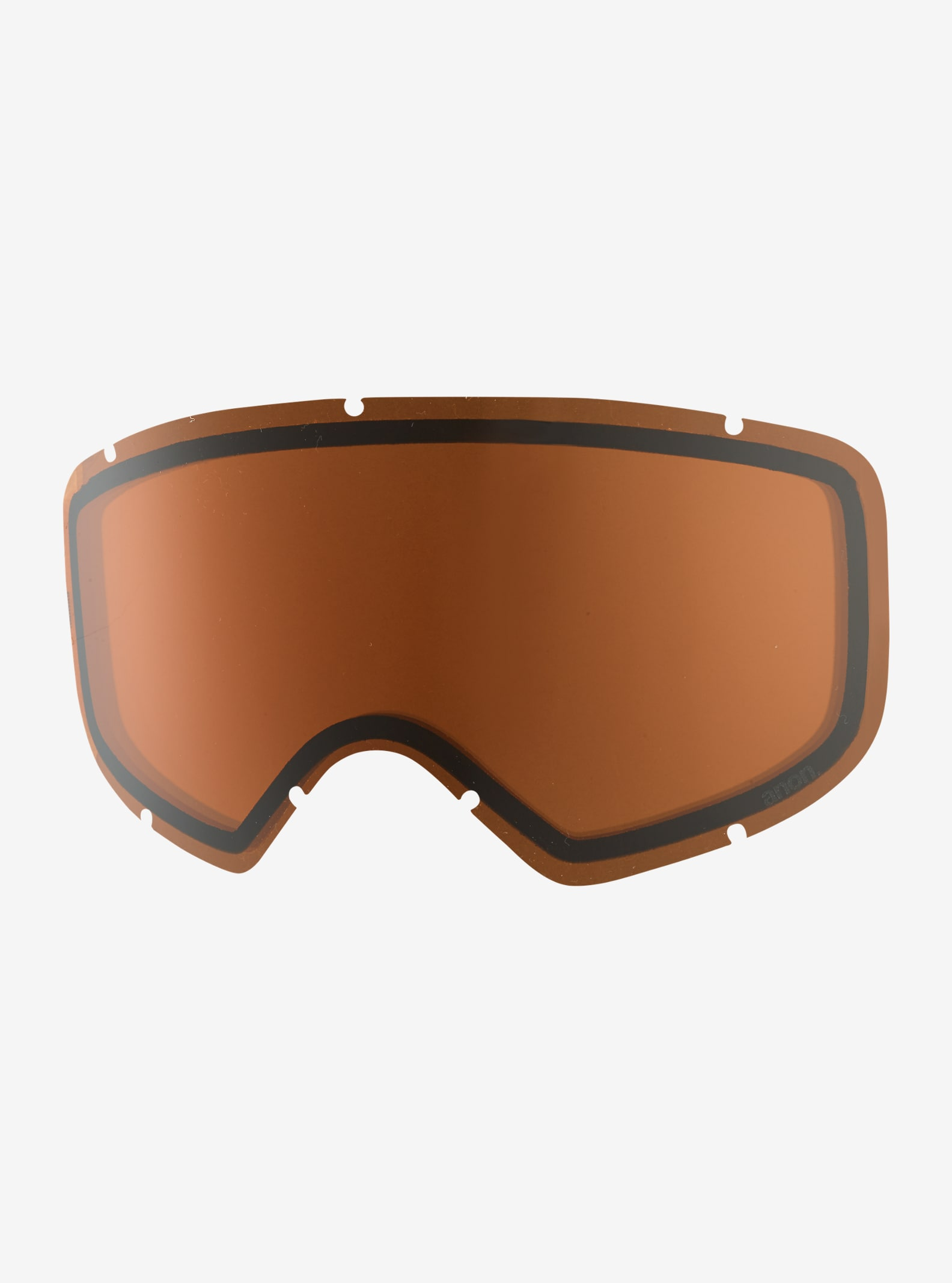 anon. Helix 2.0 Goggle Lens shown in Amber (55% VLT)