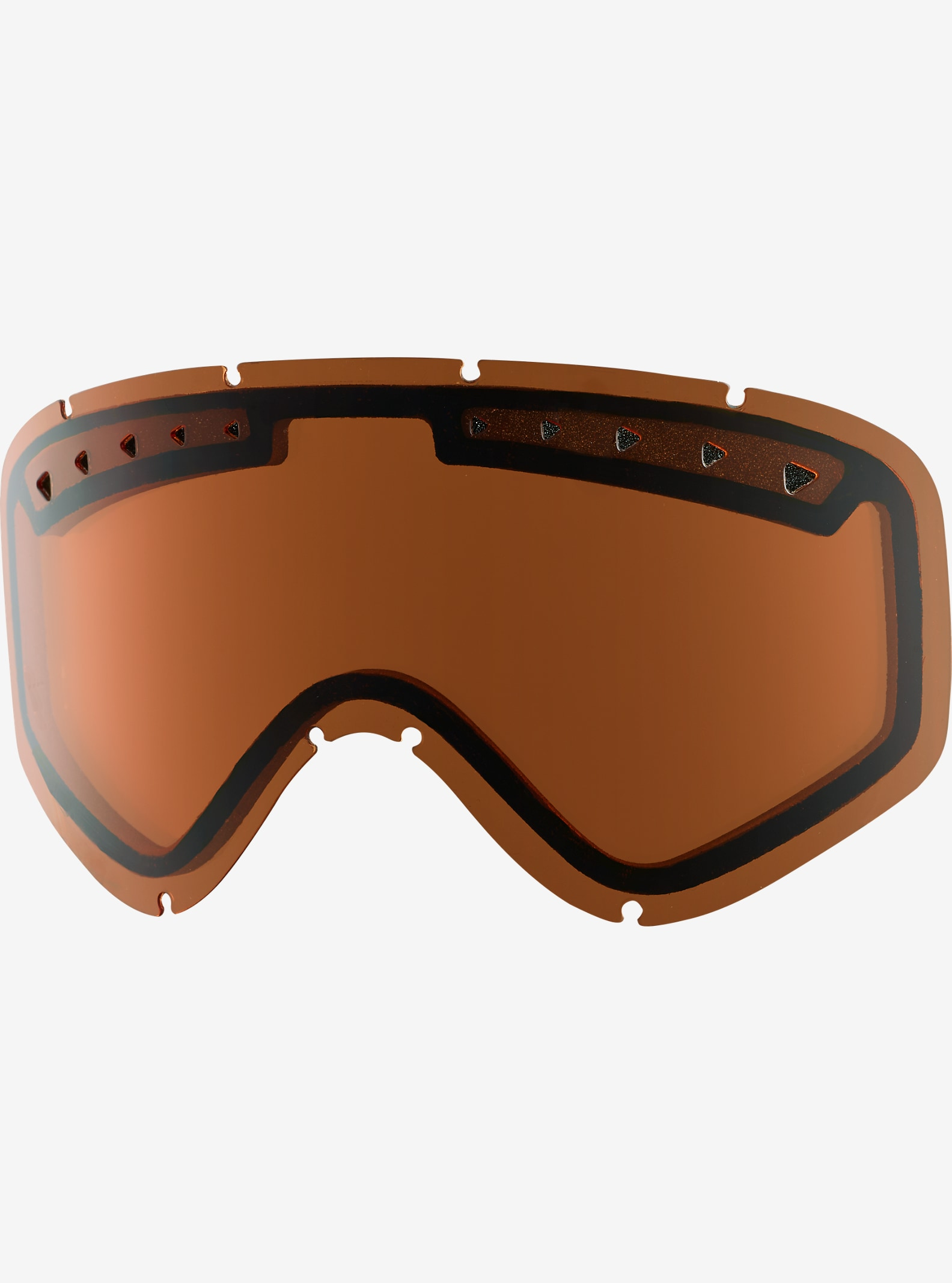 anon. Tracker Goggle Lens shown in Amber (55% VLT)