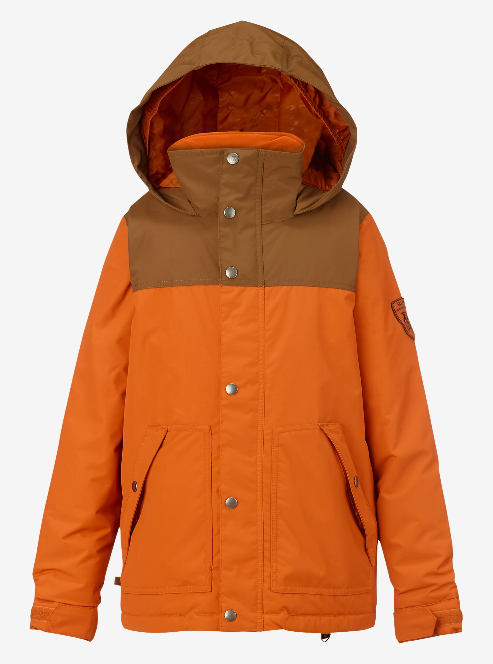 Burton Boys' Fray Jacket shown in Maui Sunset / Beaver Tail
