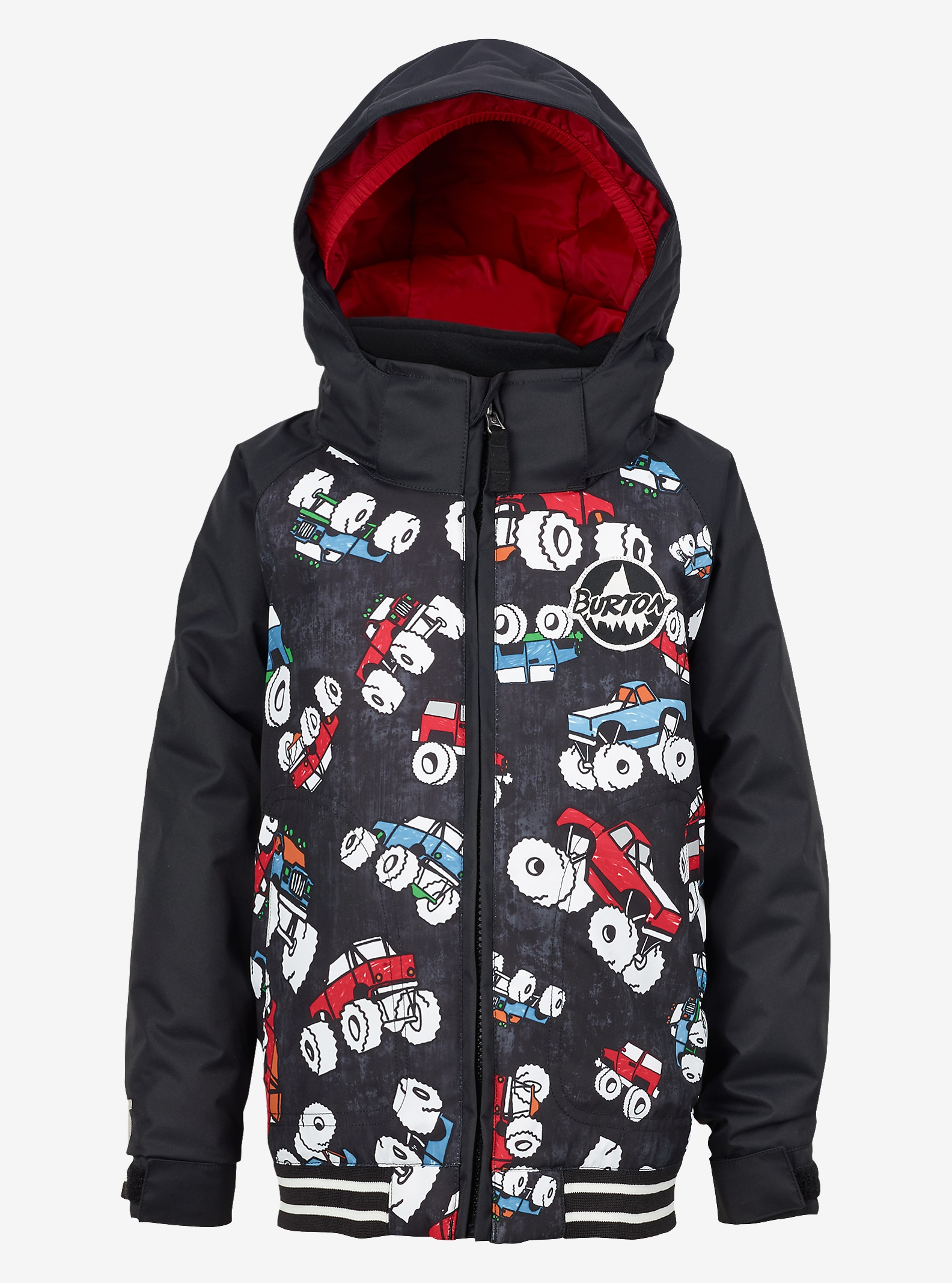 Burton Boys' Minishred Game Day Jacket shown in Offroad / True Black