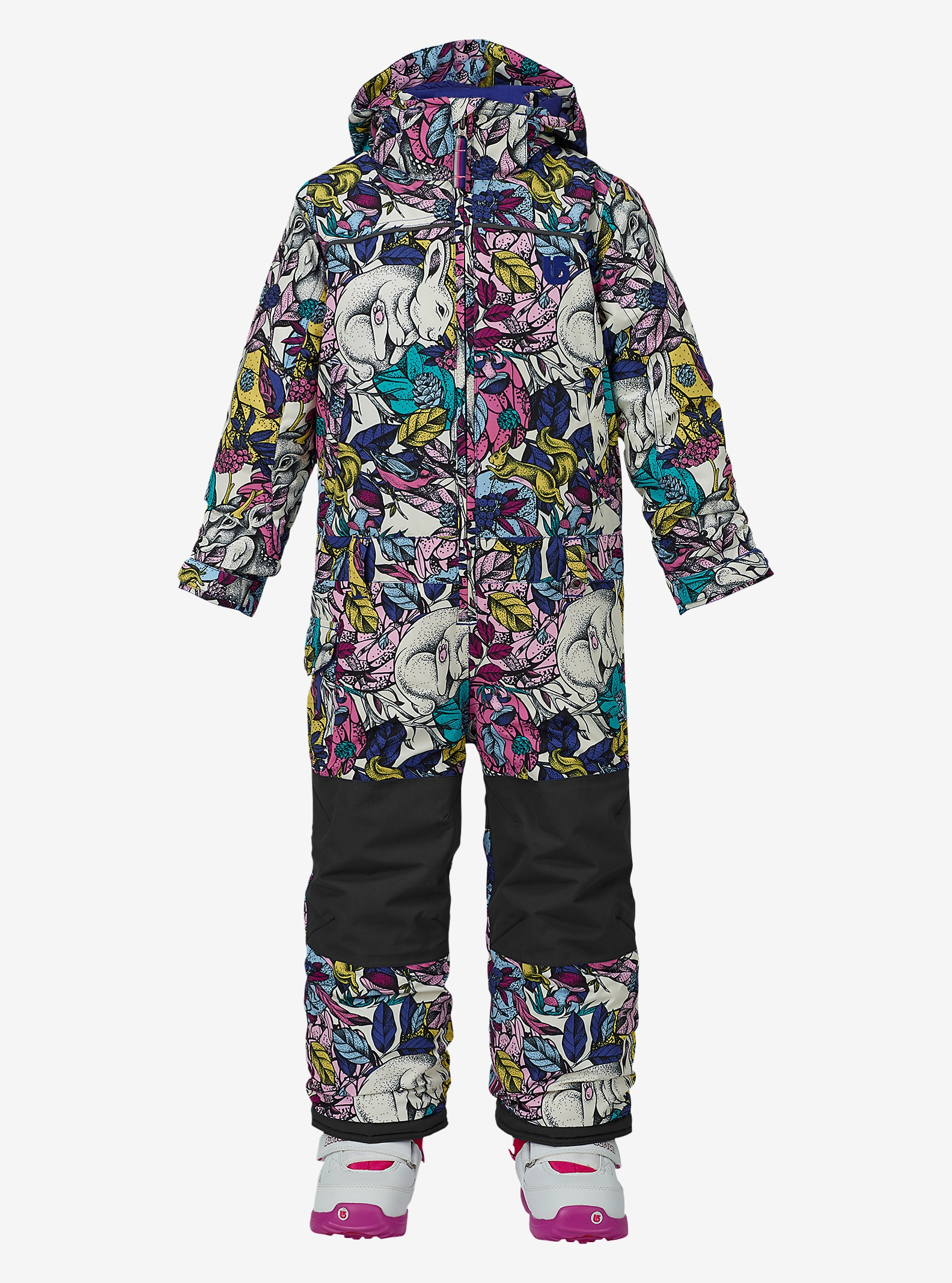 Burton Girls' Minishred Illusion One Piece shown in Animalia