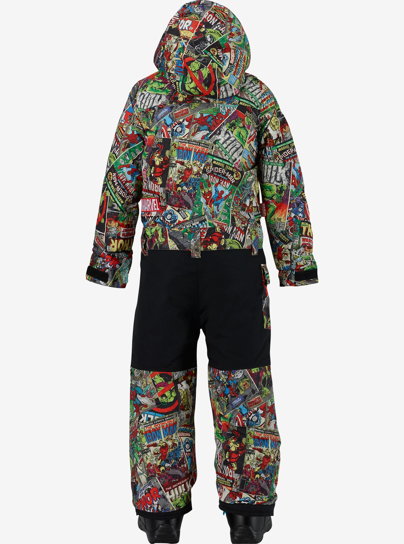 Marvel® x Burton Boys' Minishred Striker One Piece shown in Marvel © 2016 MARVEL