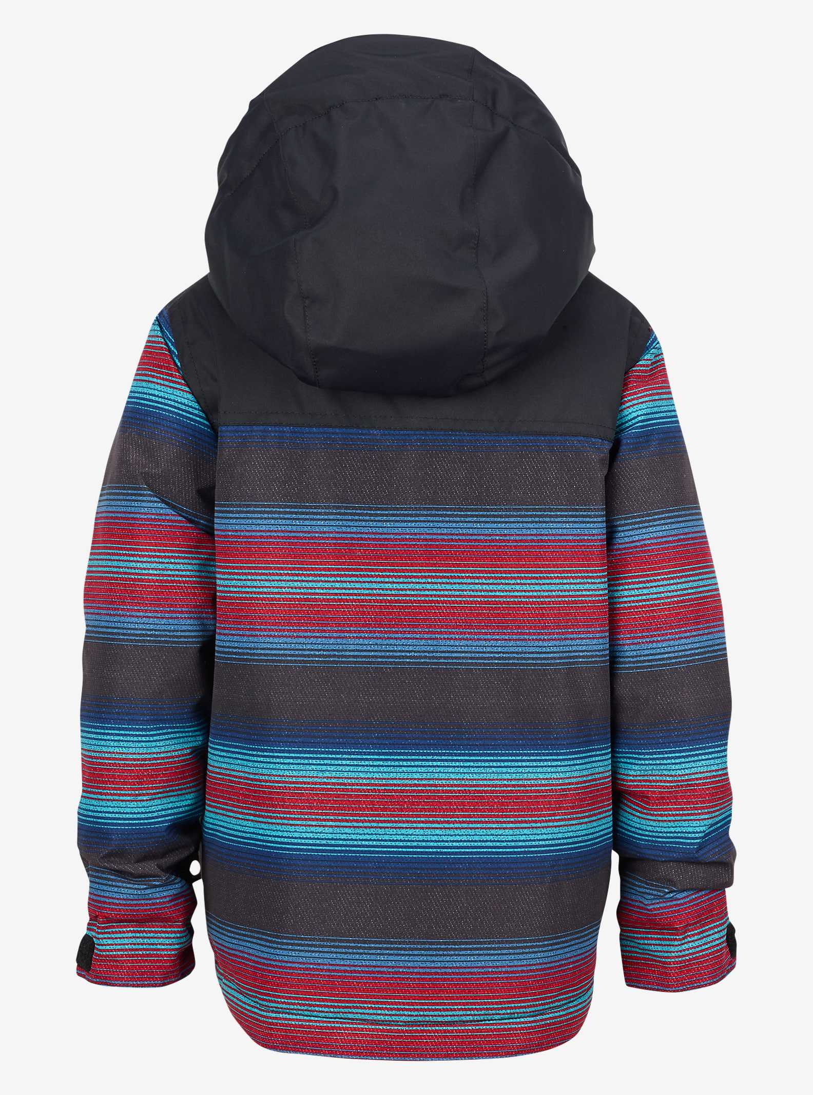 Burton - Manteau Minishred Amped garçon affichage en Seaside Stripe / True Black