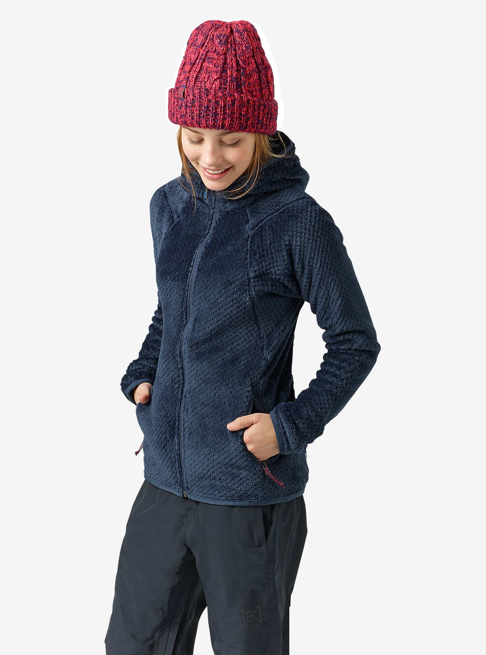 Burton [ak] Women's Turbine Fleece shown in Eclipse