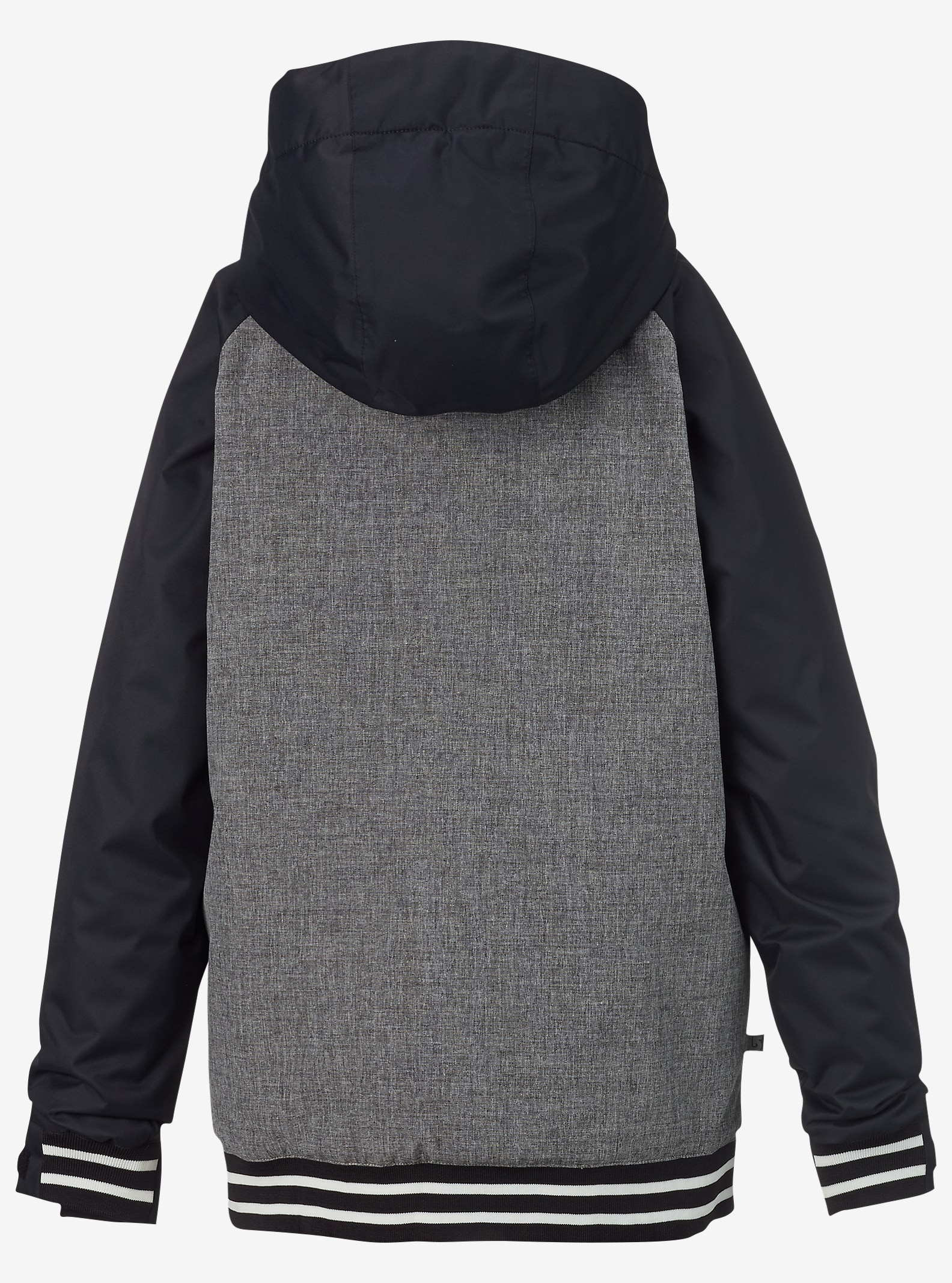 Burton - Manteau Game Day garçon affichage en Heather Iron Gray / True Black