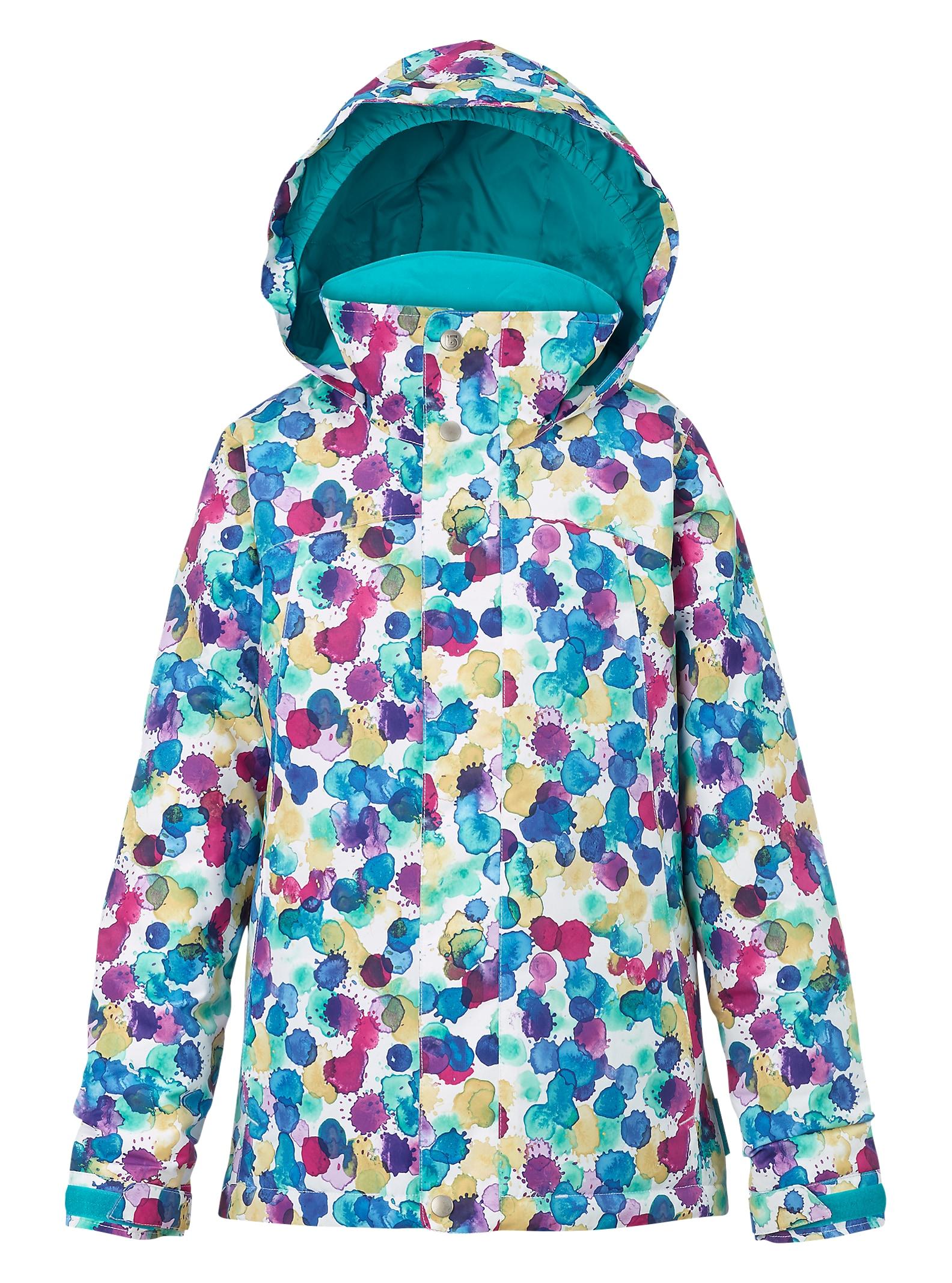 Burton Girls' Elodie Jacket shown in Rainbow Drops