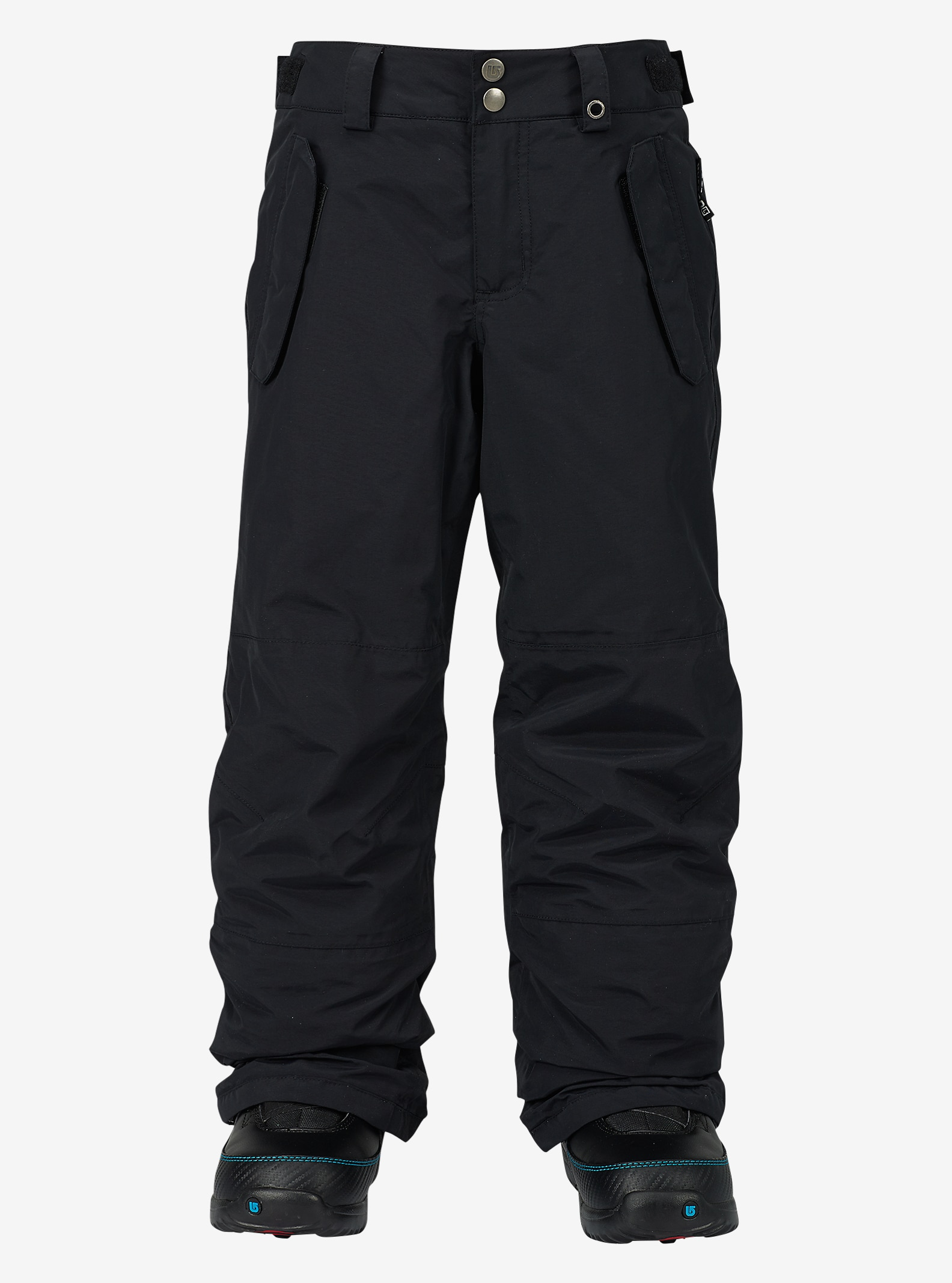 Burton Boys' Parkway Pant shown in True Black