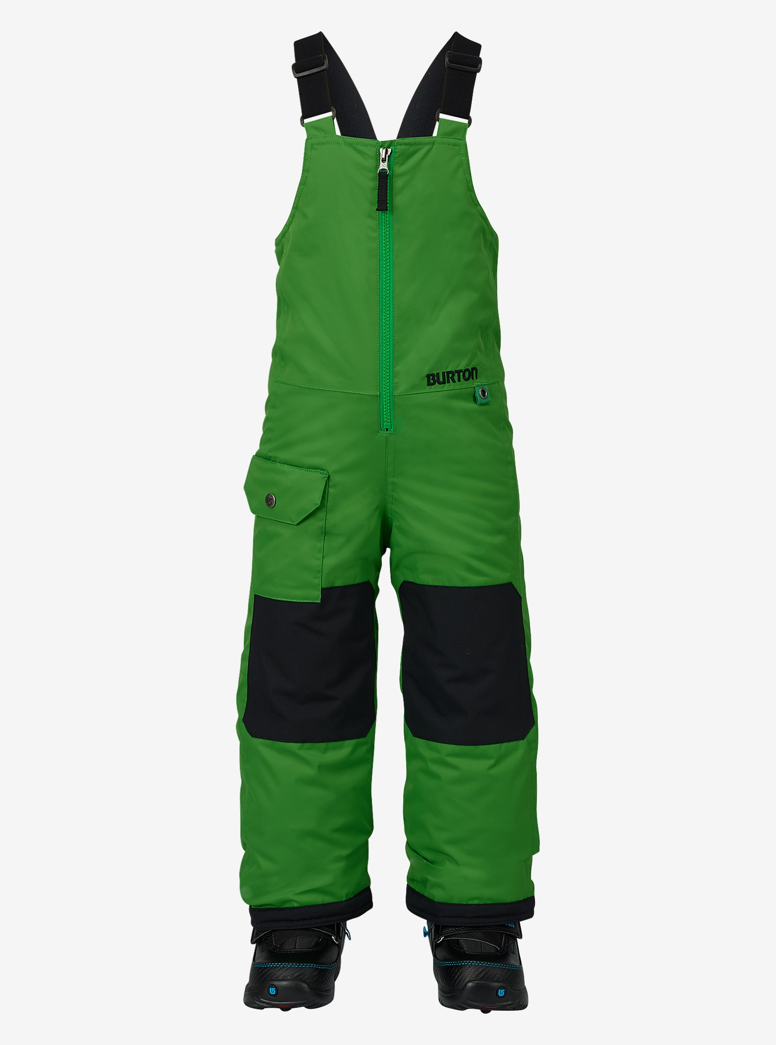 Burton Kids' Minishred Maven Bib Pant shown in Slime