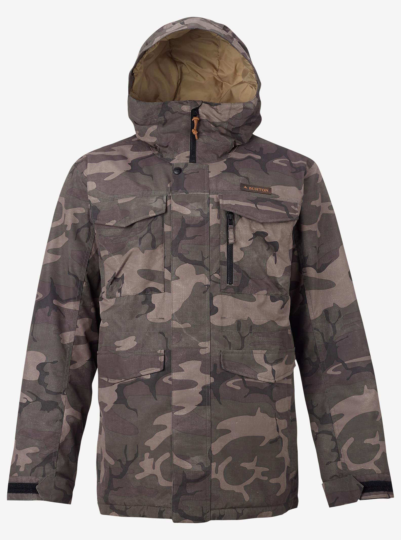 Burton Covert Jacket shown in Bkamo