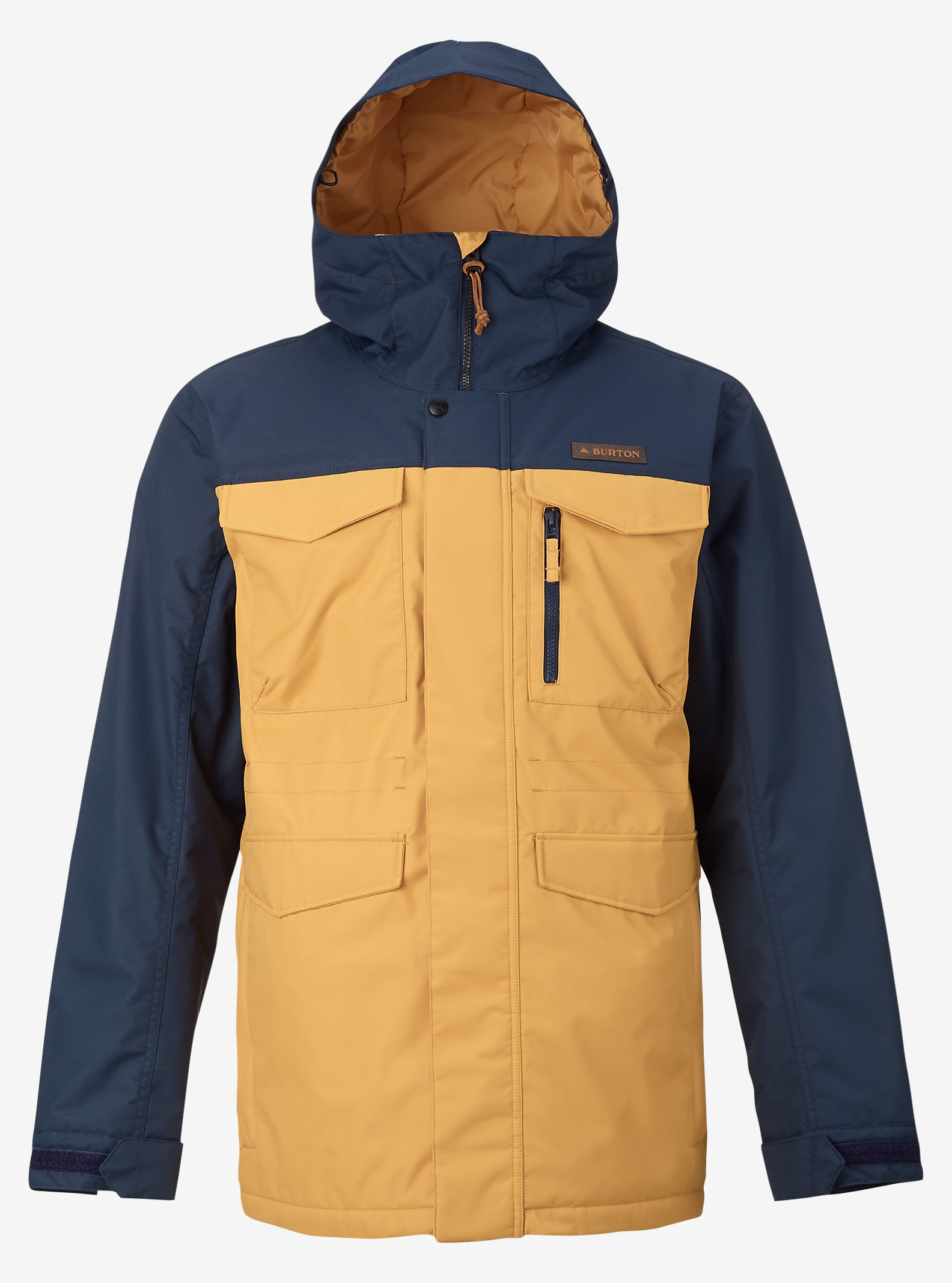 Burton Covert Jacket shown in Eclipse / Syrup