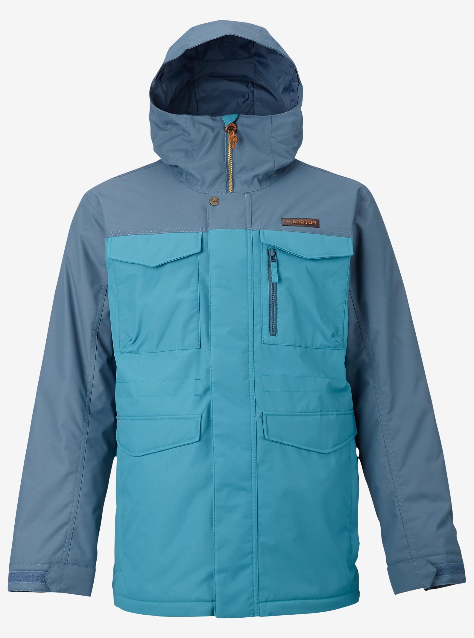 Burton Covert Jacket shown in Washed Blue / Larkspur