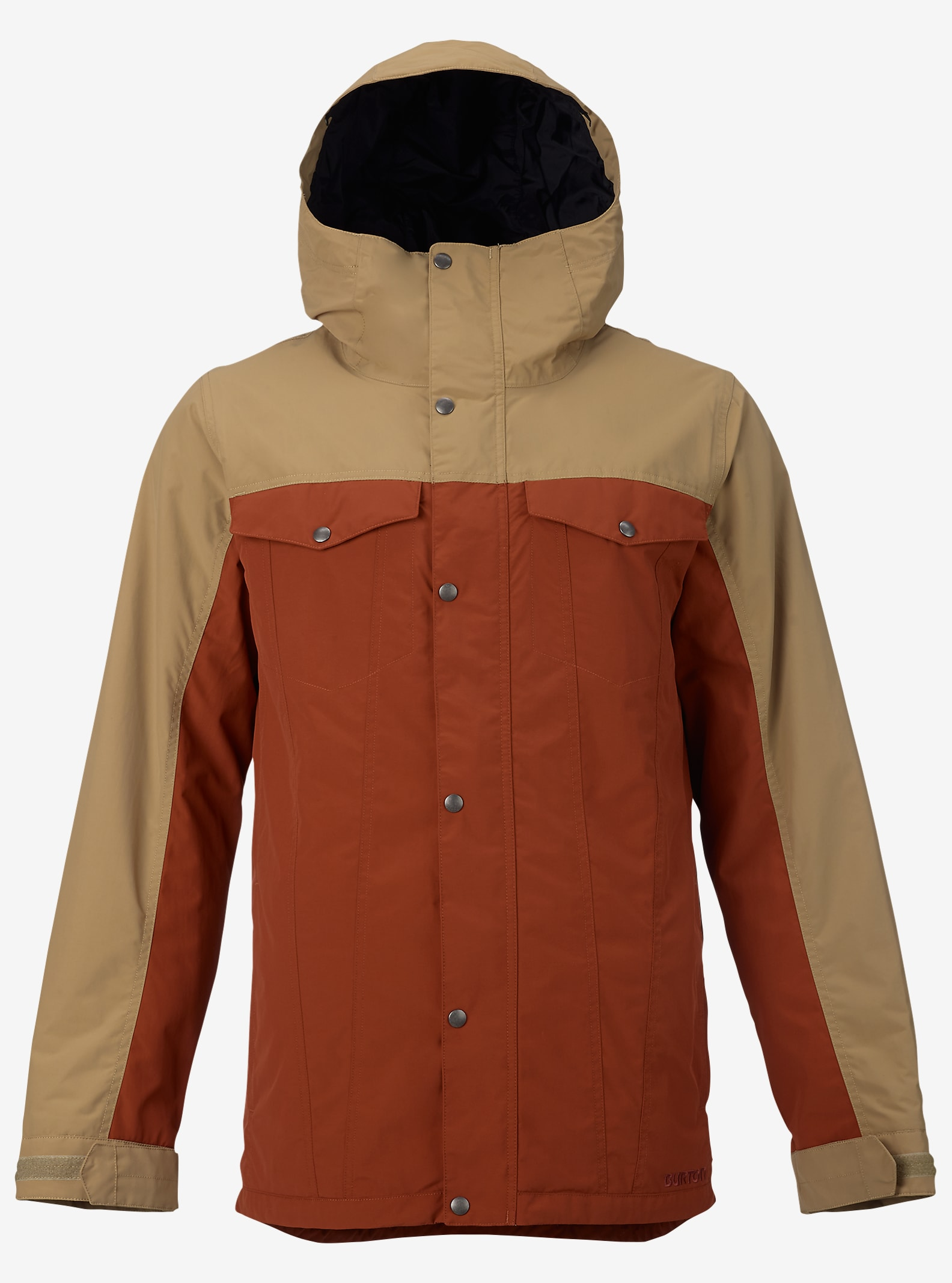 Burton TWC Greenlight Jacket shown in Kelp / Picante