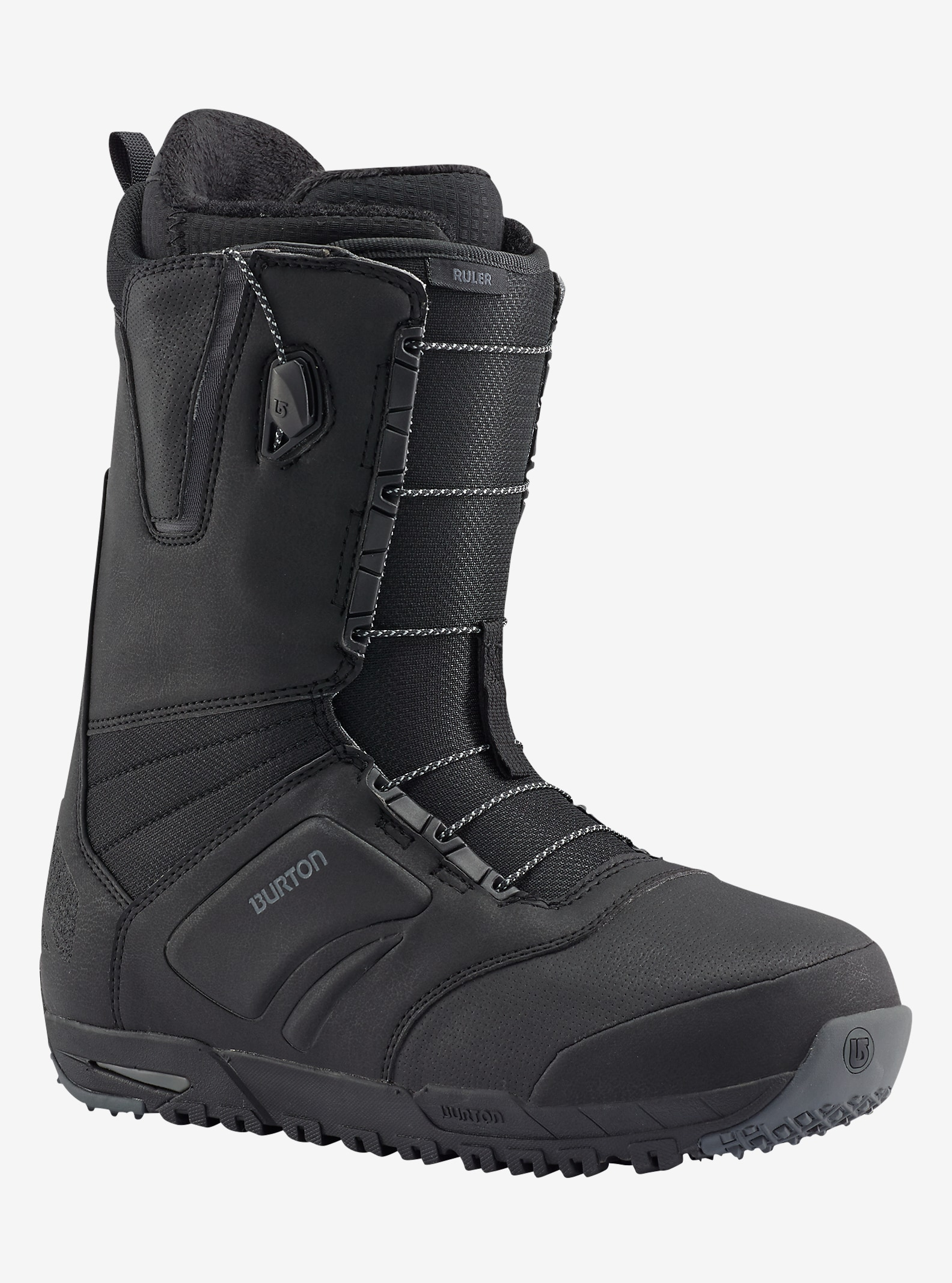 Burton Ruler Wide Snowboardboots angezeigt in Black