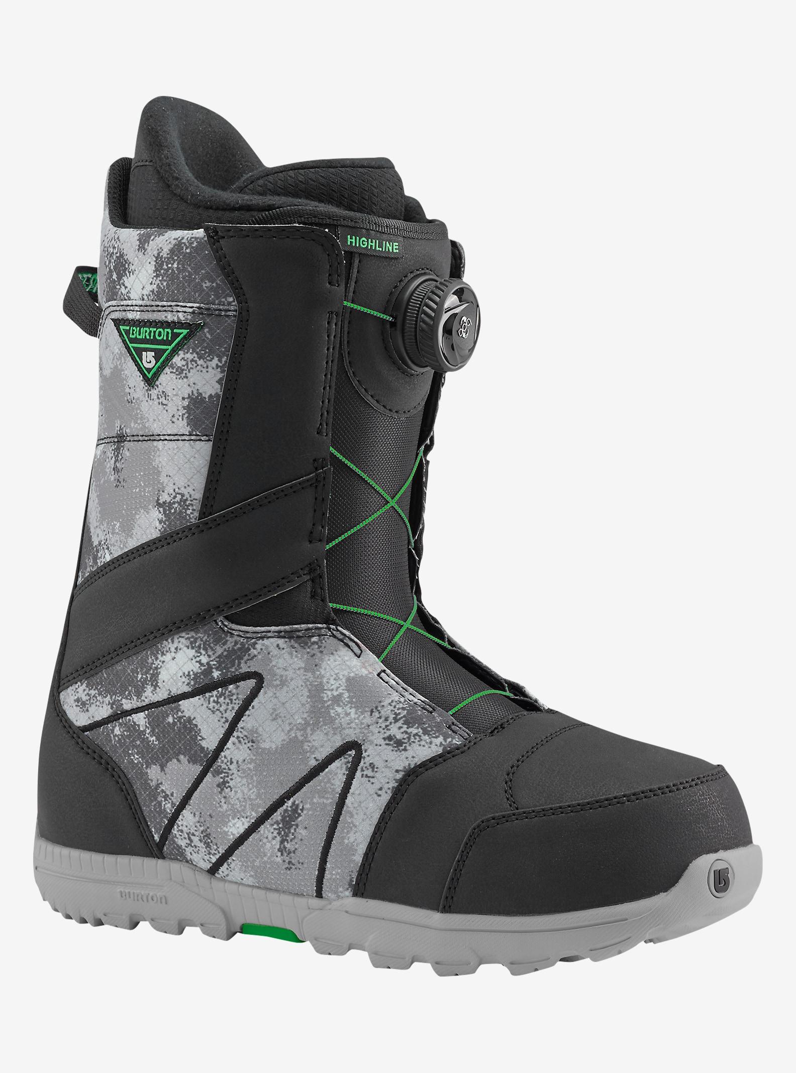 Burton Highline Boa® Snowboard Boot shown in Black / Gray