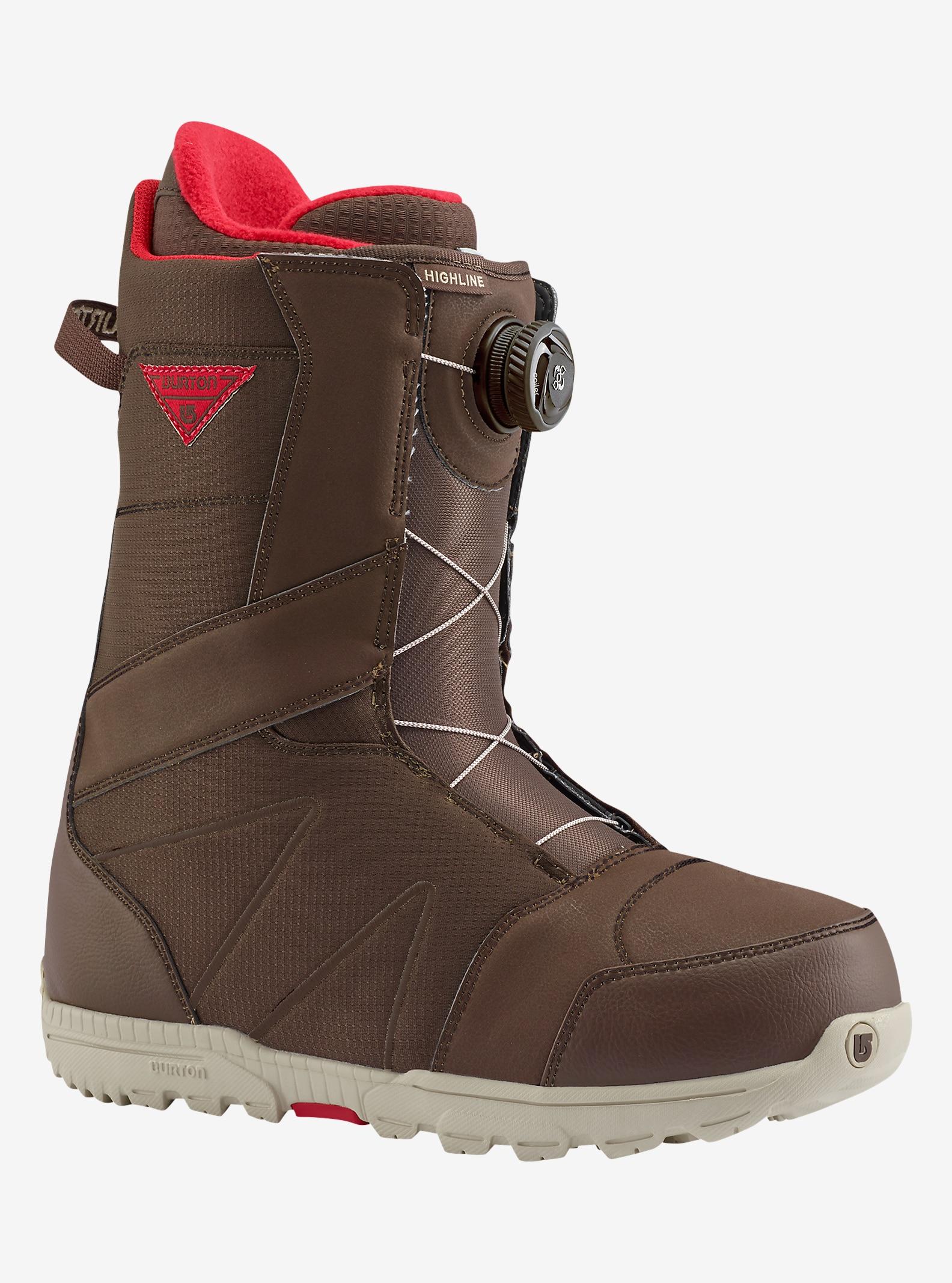 Burton Highline Boa® Snowboard Boot shown in Brown